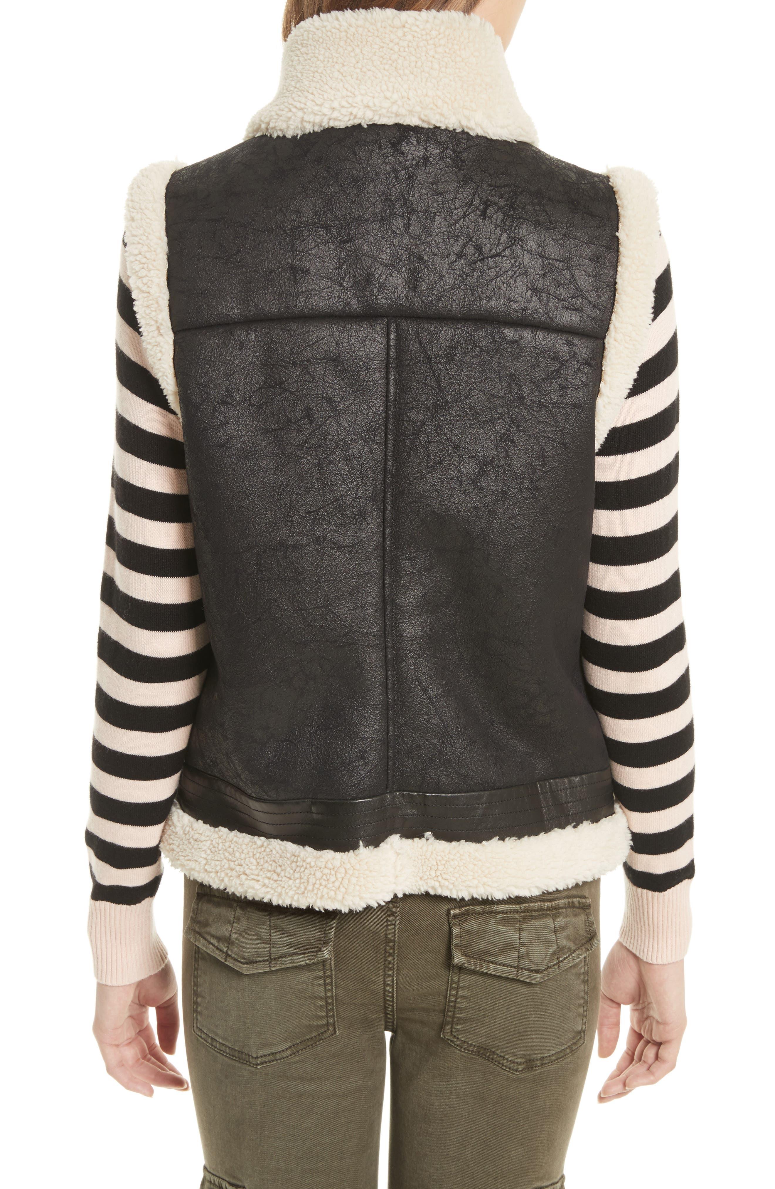 Alternate Image 2  - Joie Danay Faux Shearling Vest