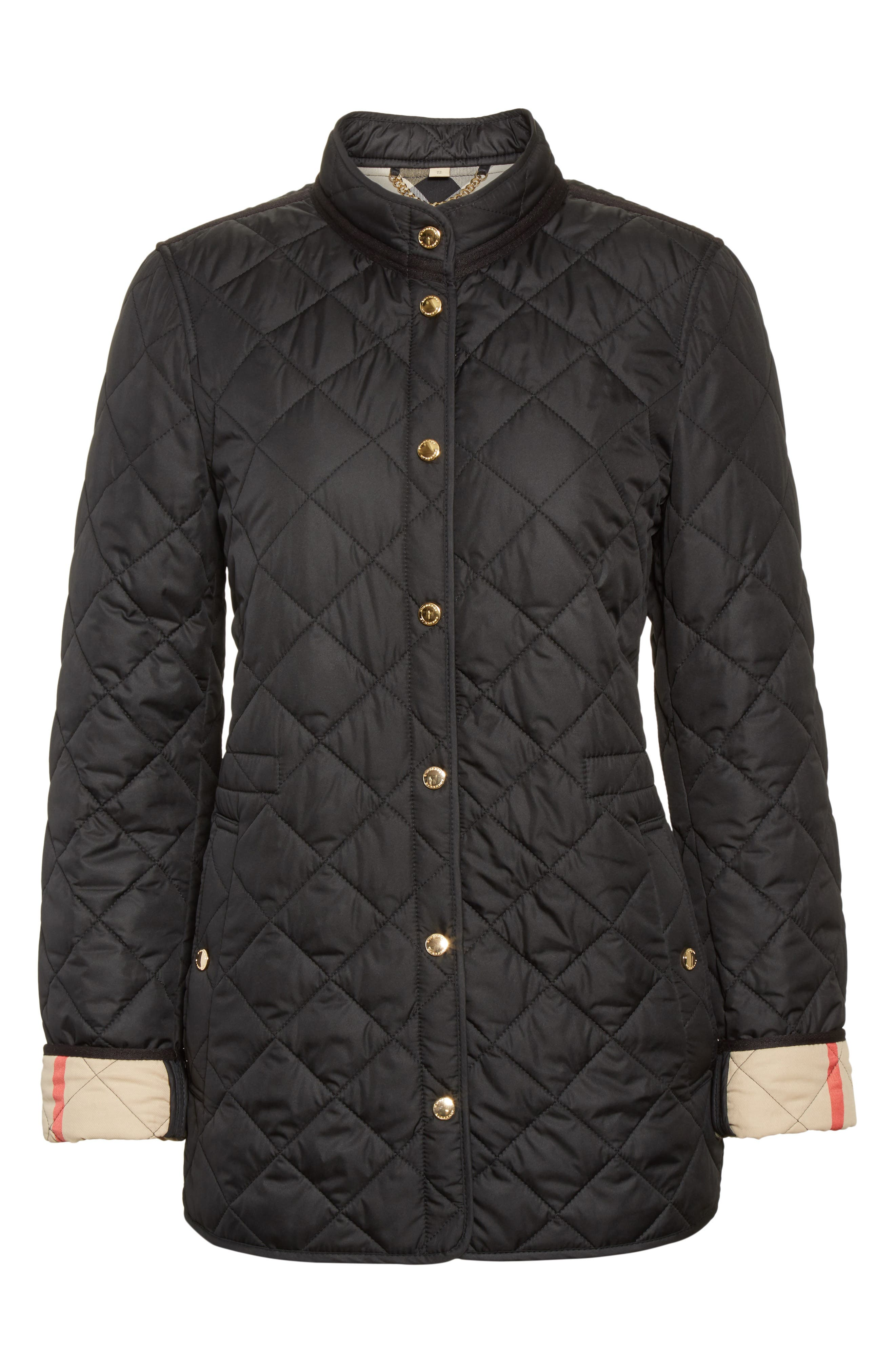 Alternate Image 4  - Burberry Pensham Quilted Jacket (Nordstrom Exclusive)
