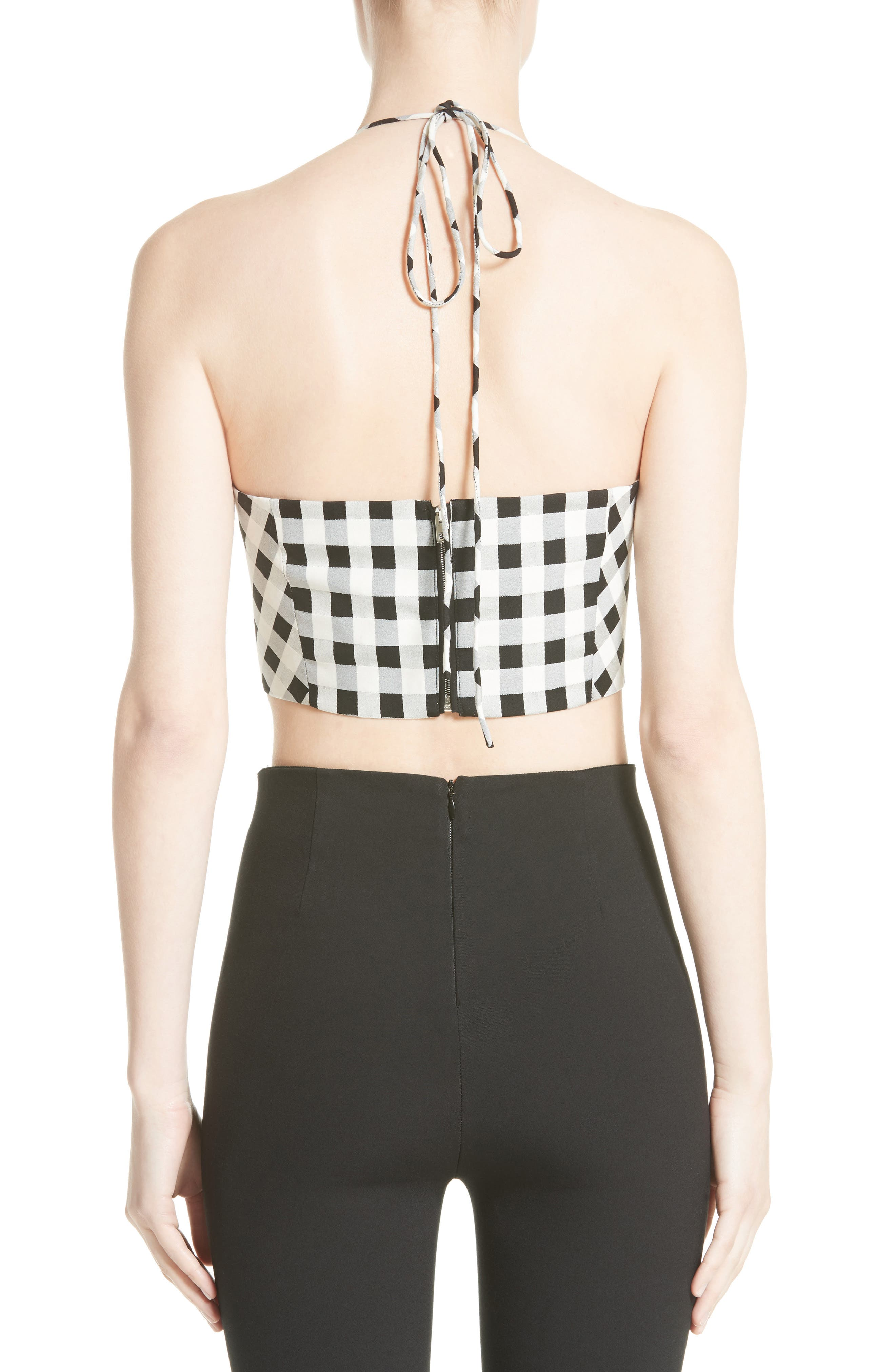 Alternate Image 3  - rag & bone Nevada Crop Halter Top