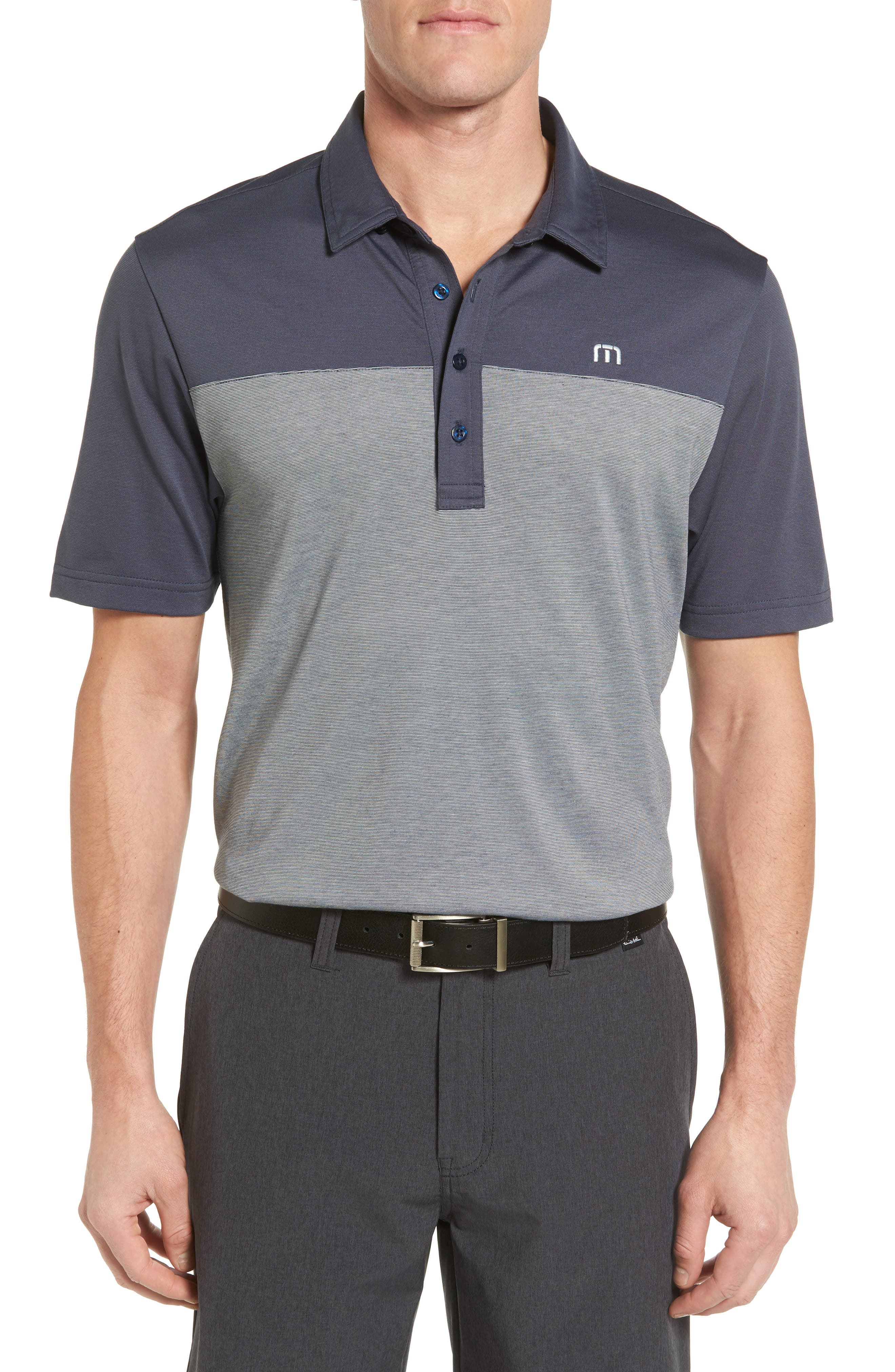 TRAVIS MATHEW Hans Bagger Trim Fit Polo