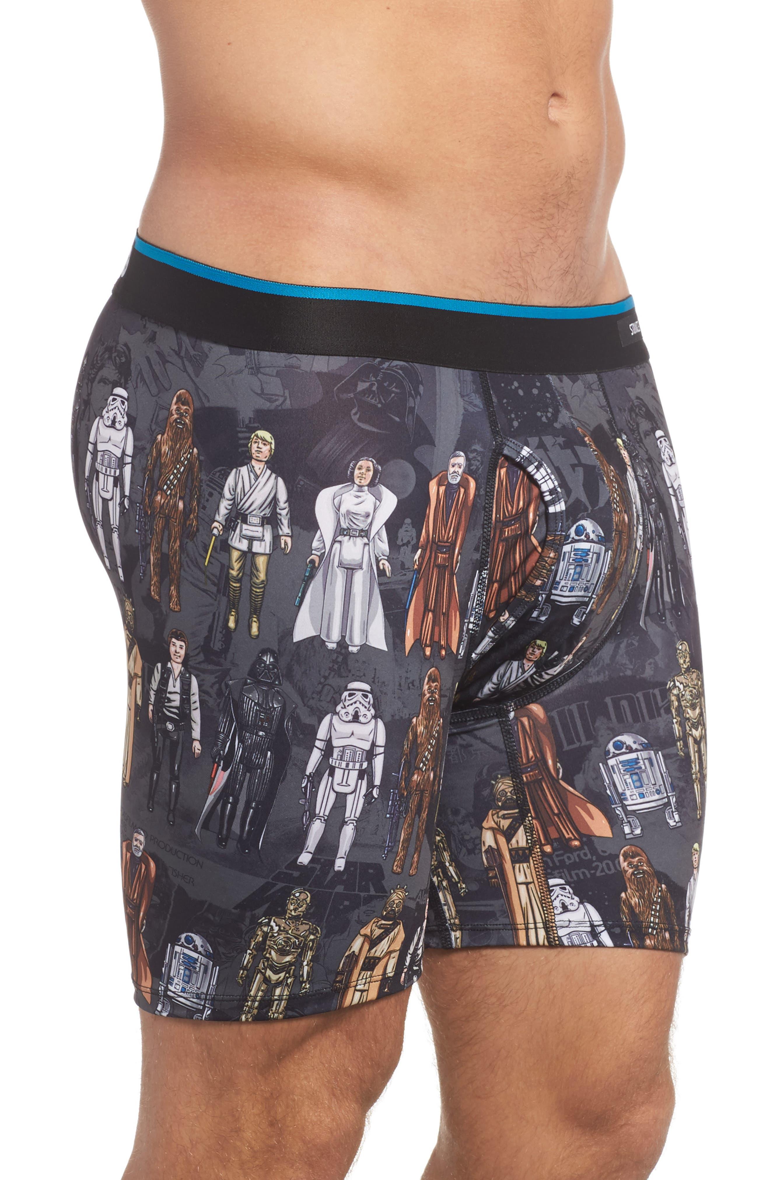 Star Wars<sup>™</sup> Boxer Briefs,                             Alternate thumbnail 3, color,                             Black