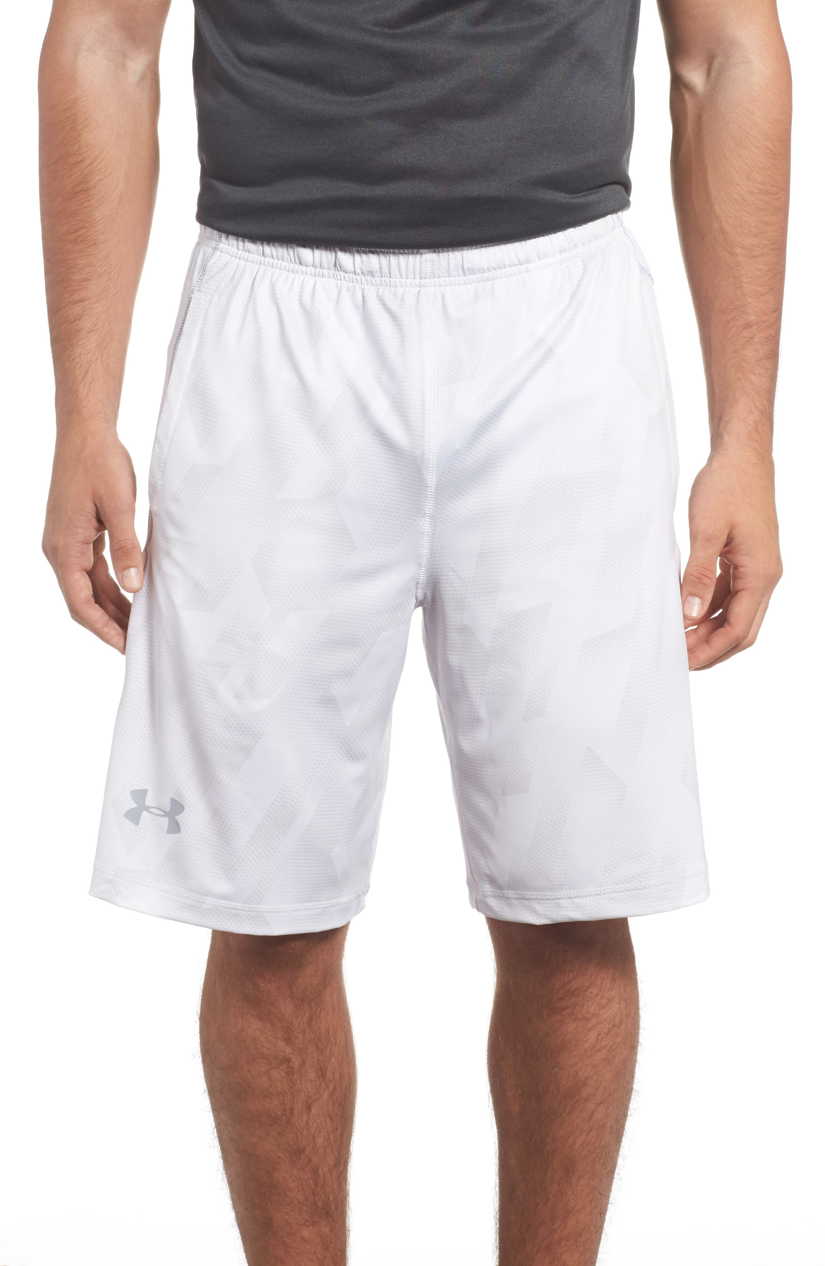 Under Armour 'Raid' HeatGear® Loose Fit Athletic Shorts