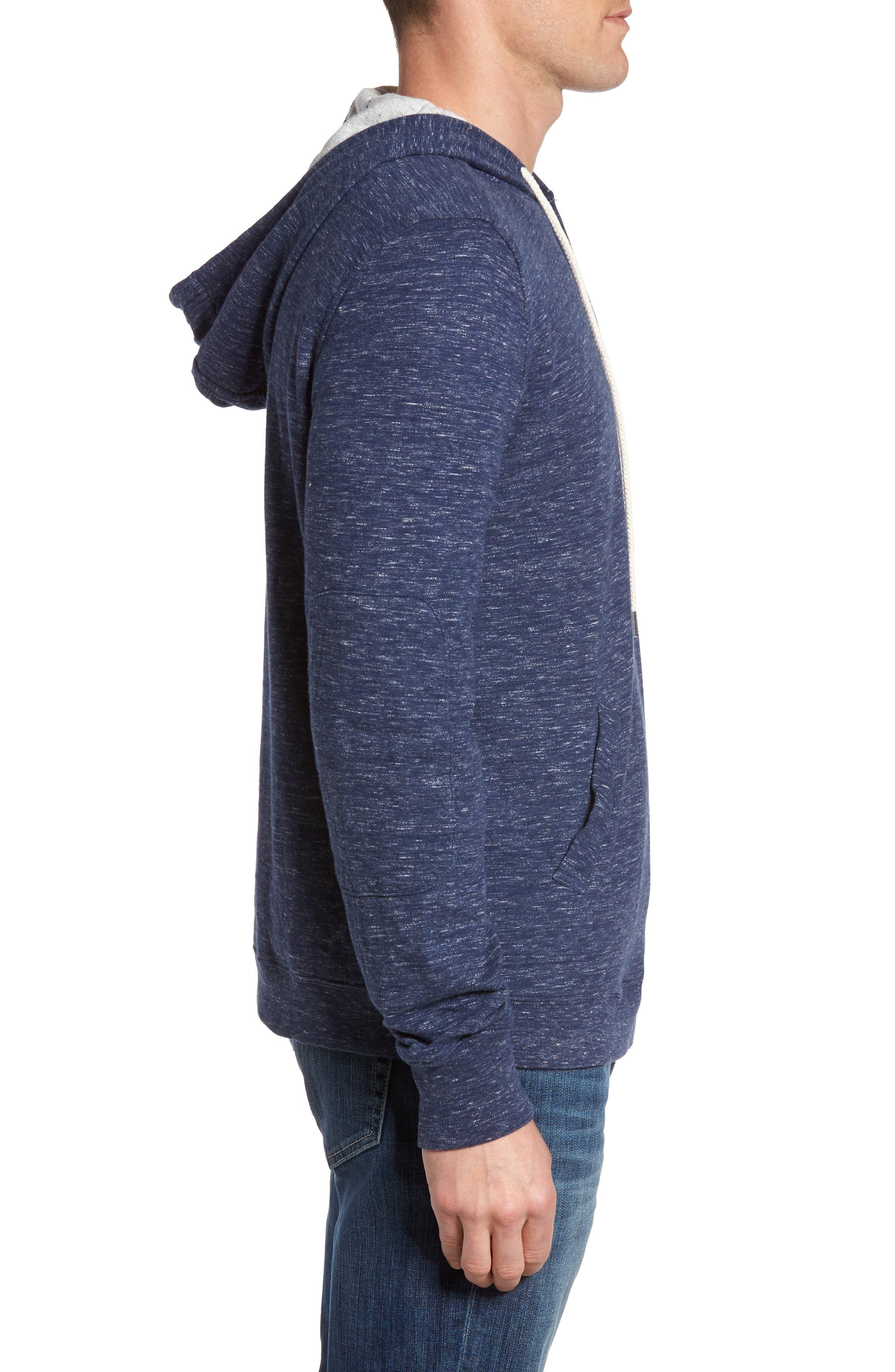 Alternate Image 3  - Grayers Blake Double Cloth Henley Hoodie