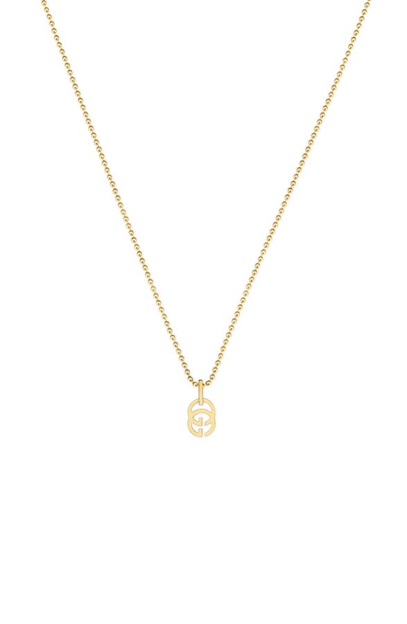 Gucci double g pendant necklace nordstrom main image gucci double g pendant necklace aloadofball Images