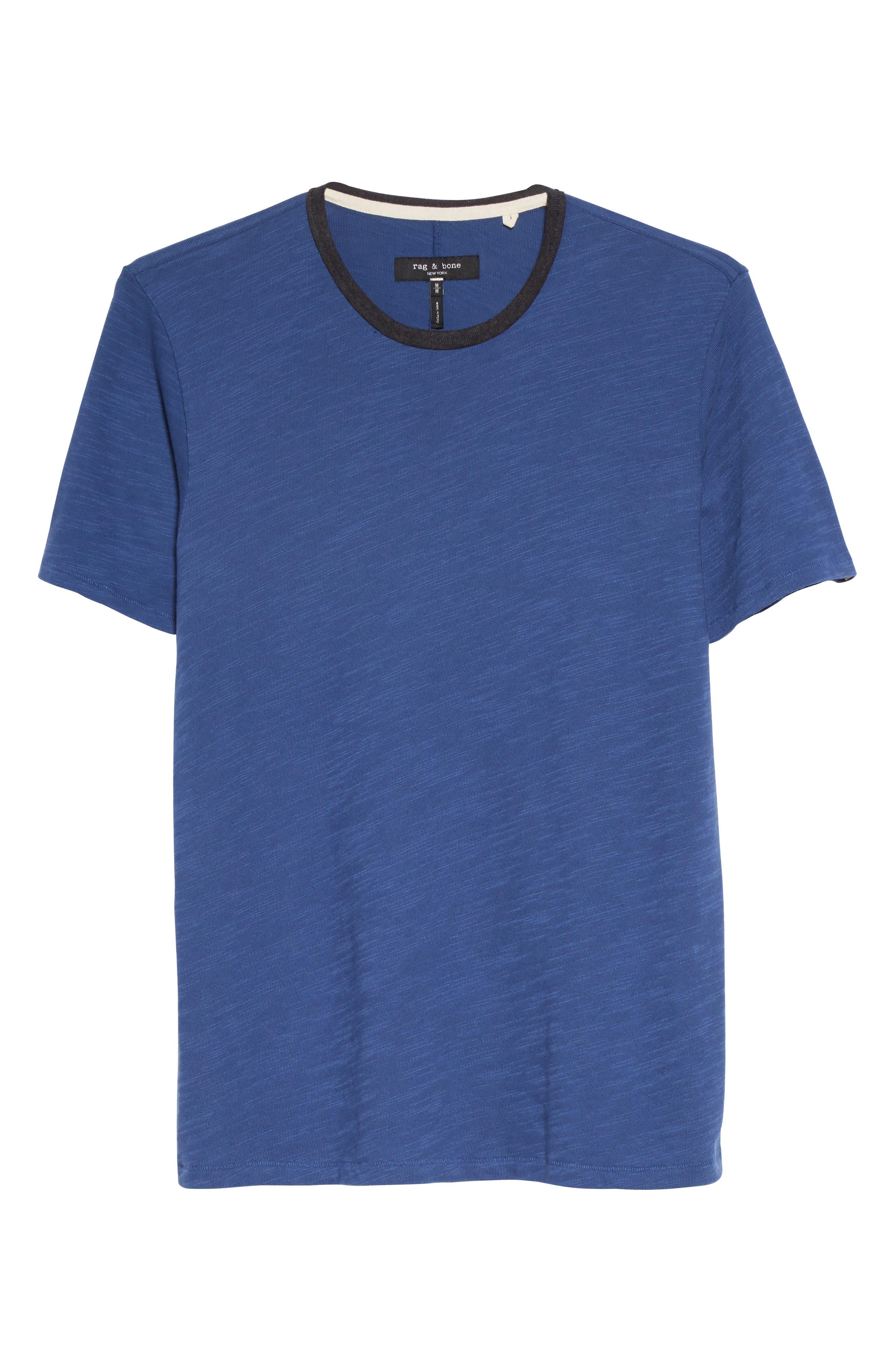 Alternate Image 6  - rag & bone Slub Cotton Jersey T-Shirt