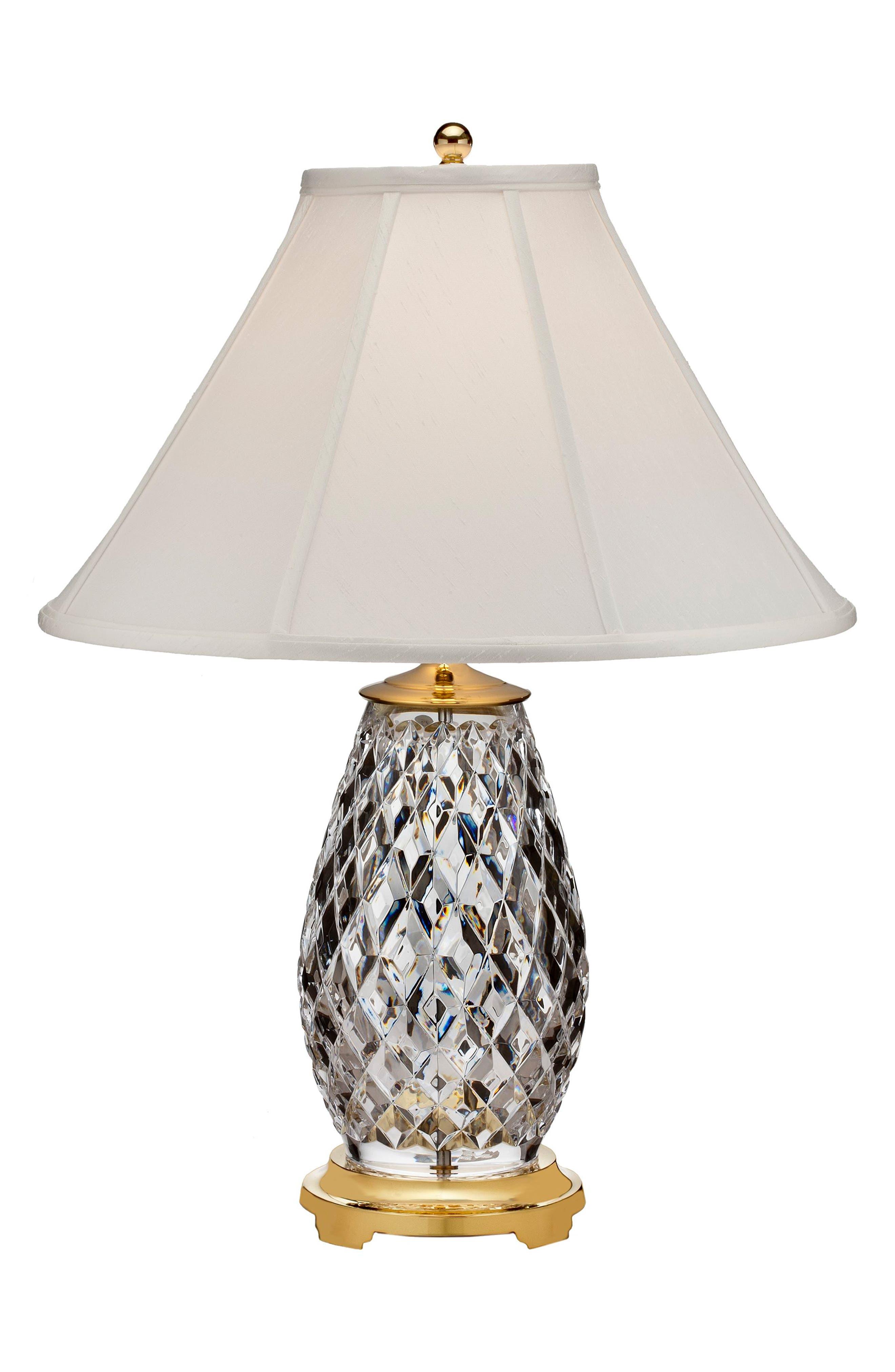 Main Image - Waterford Diama Crystal Table Lamp