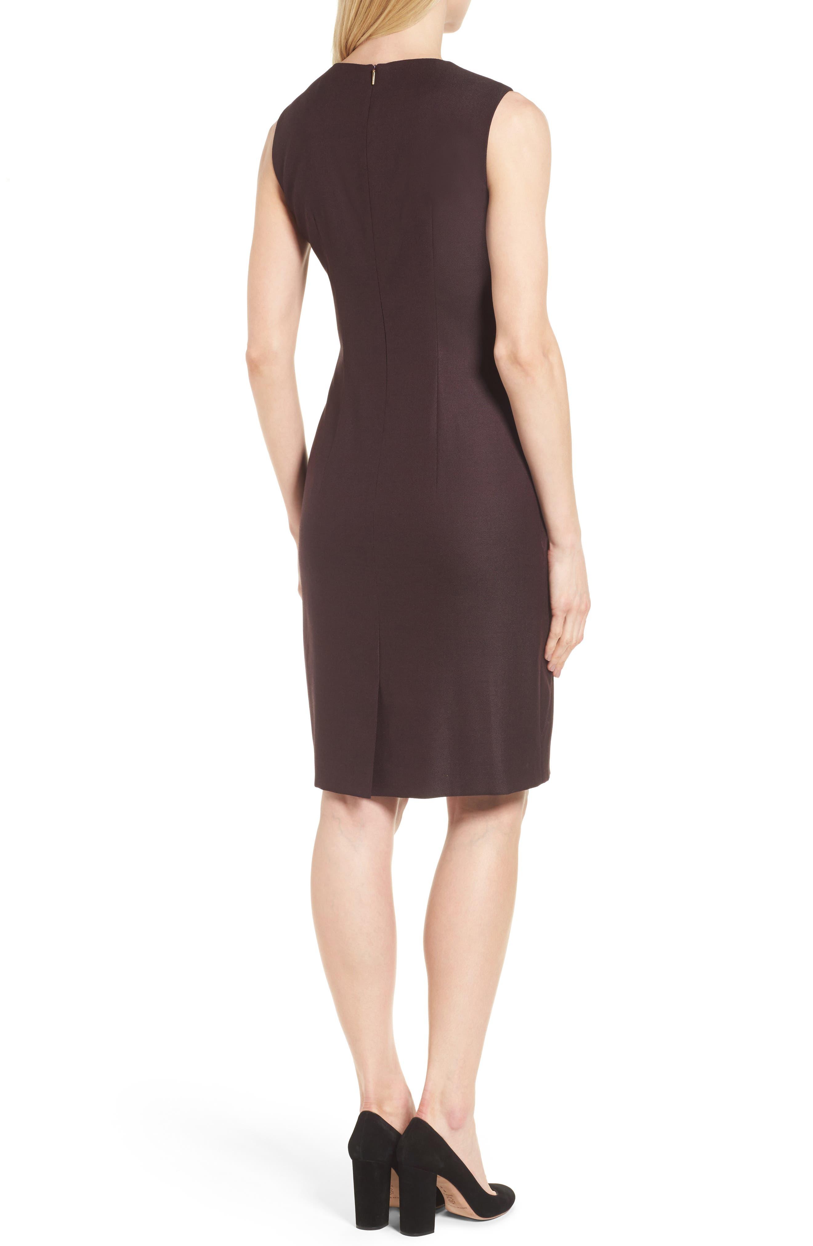 Alternate Image 3  - BOSS Denesa Sheath Dress