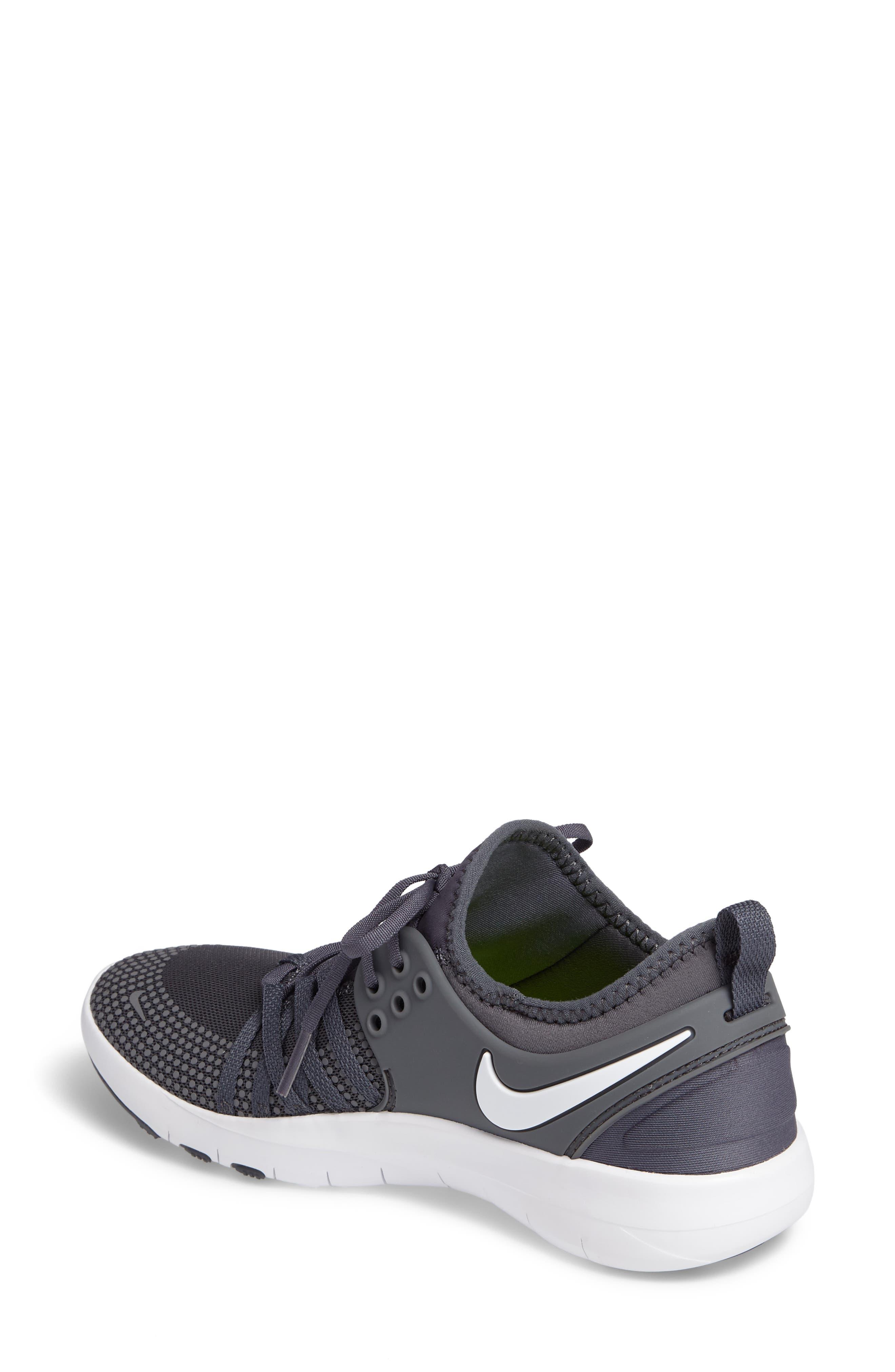 Free TR 7 Training Shoe,                             Alternate thumbnail 2, color,                             Dark Grey/ White