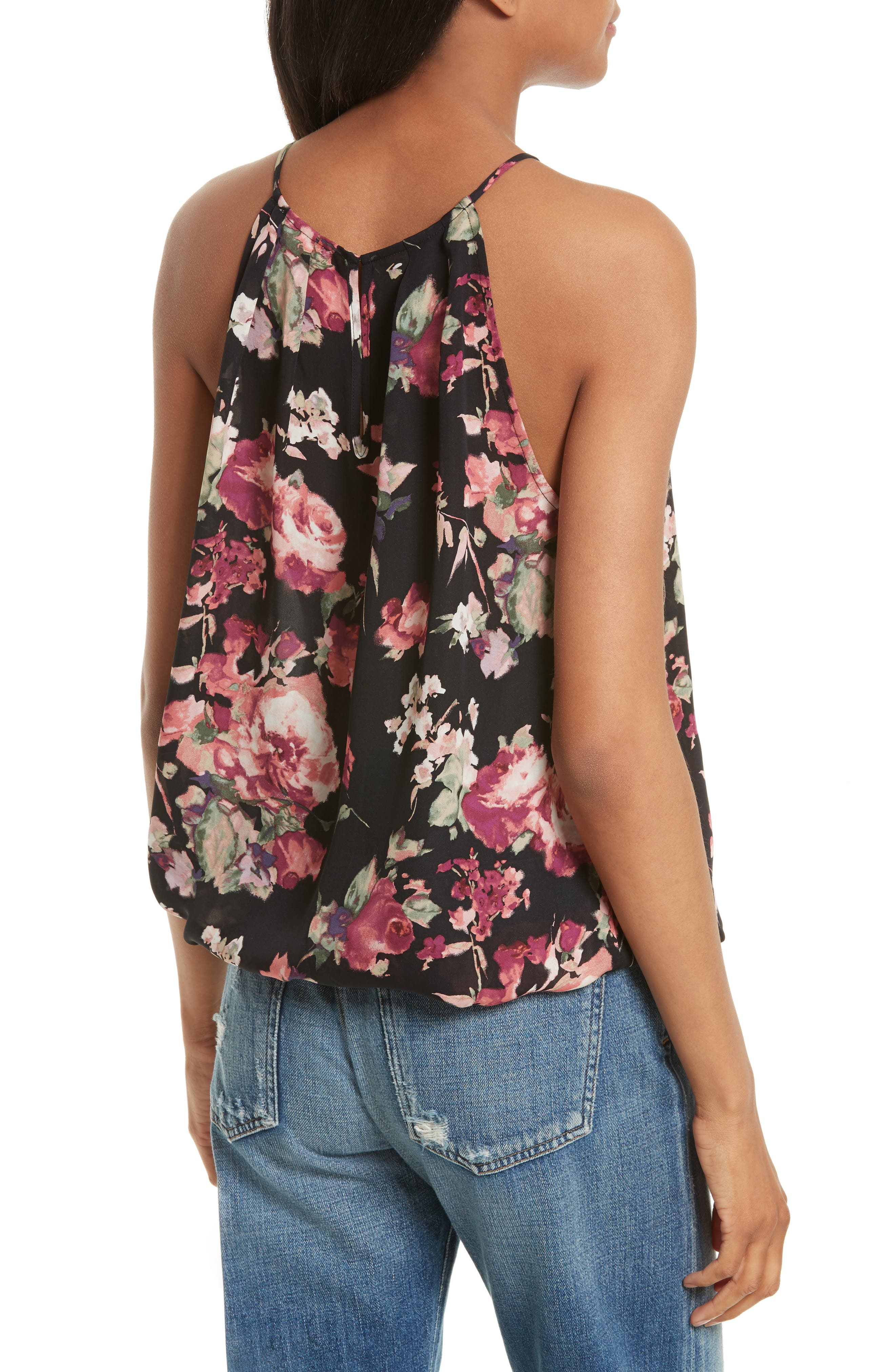 Alternate Image 2  - Joie Anatase C Floral Print Sleeveless Silk Top