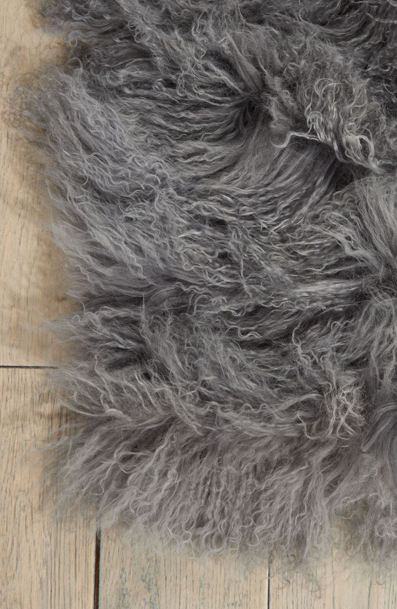 Alternate Image 2  - Calvin Klein Moritz Matterhorn Genuine Shearling Area Rug