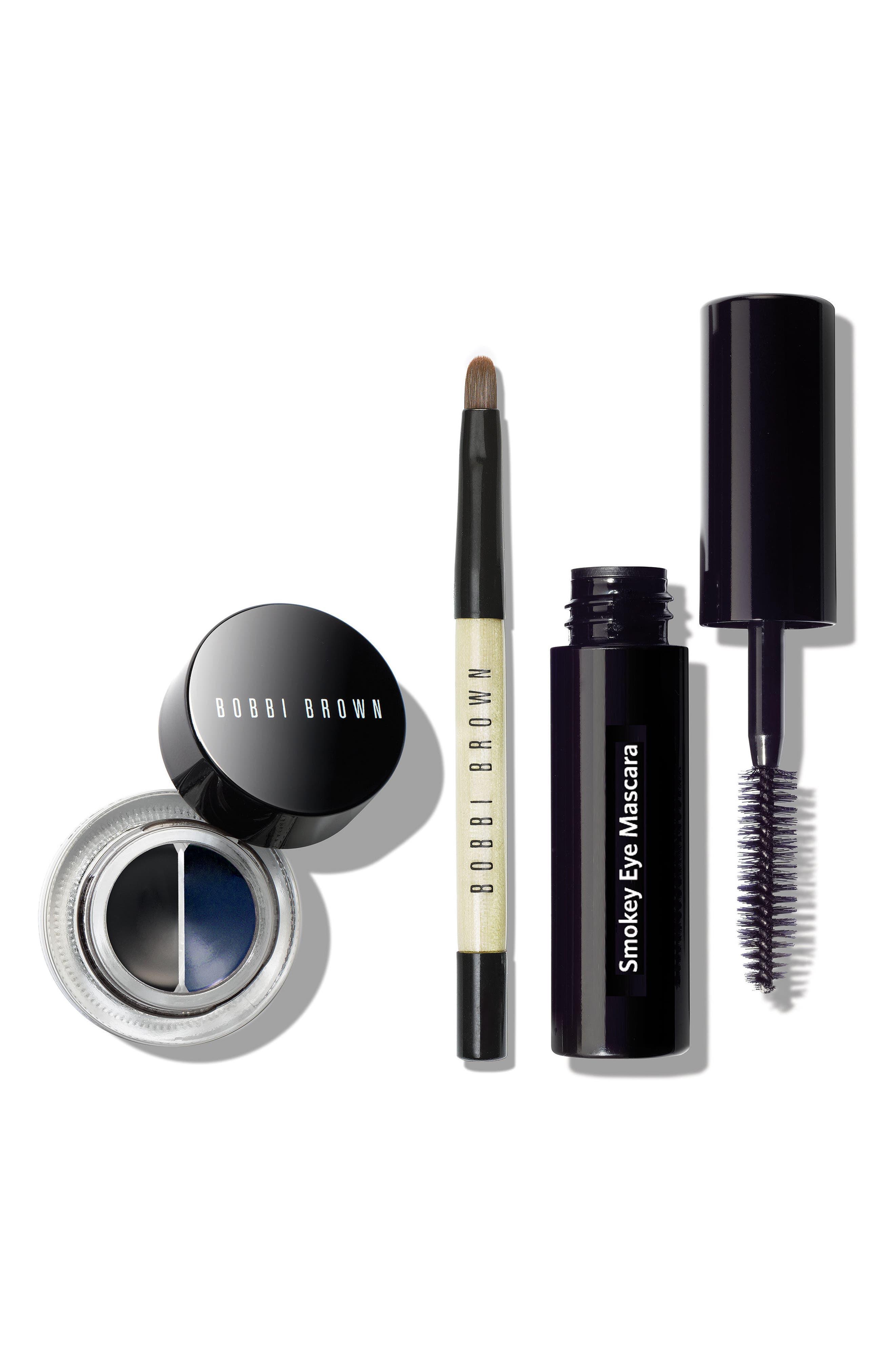 Gel Eyeliner Set,                         Main,                         color, Black