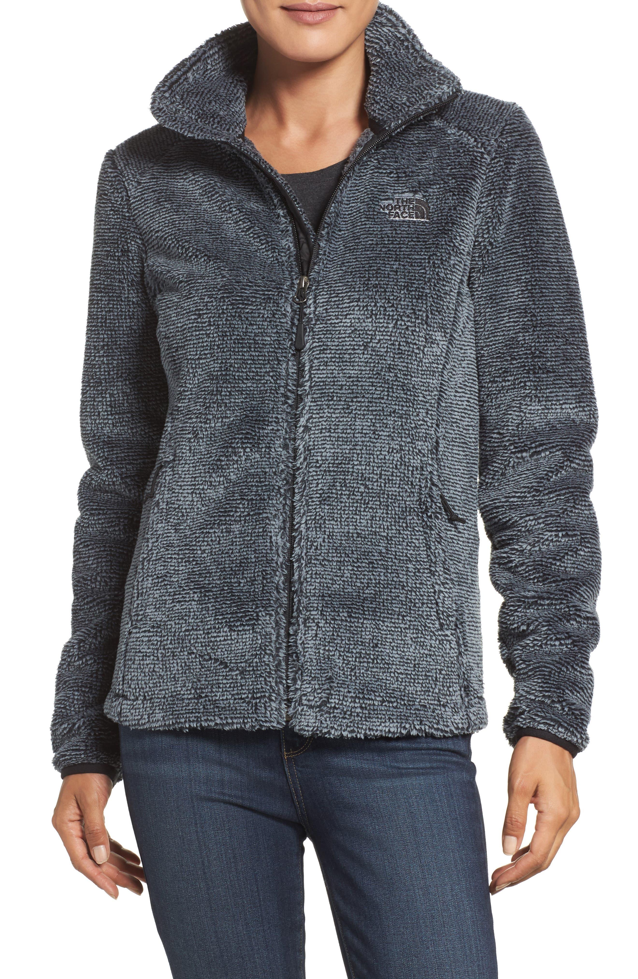 'Osito 2' Jacket,                         Main,                         color, Tnf Black/ Mid Grey Stripe