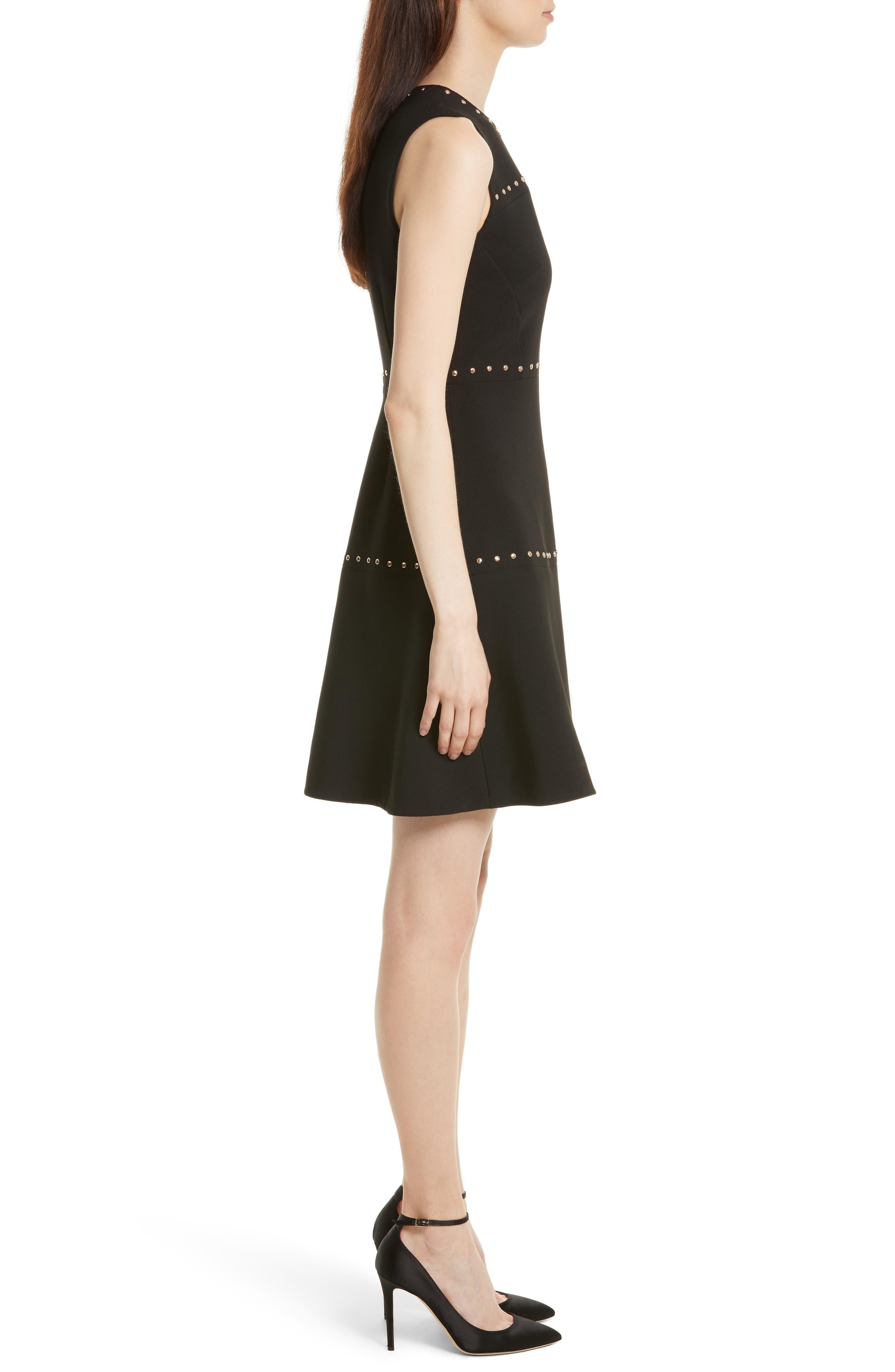 Alternate Image 3  - kate spade new york studded a-line crepe dress