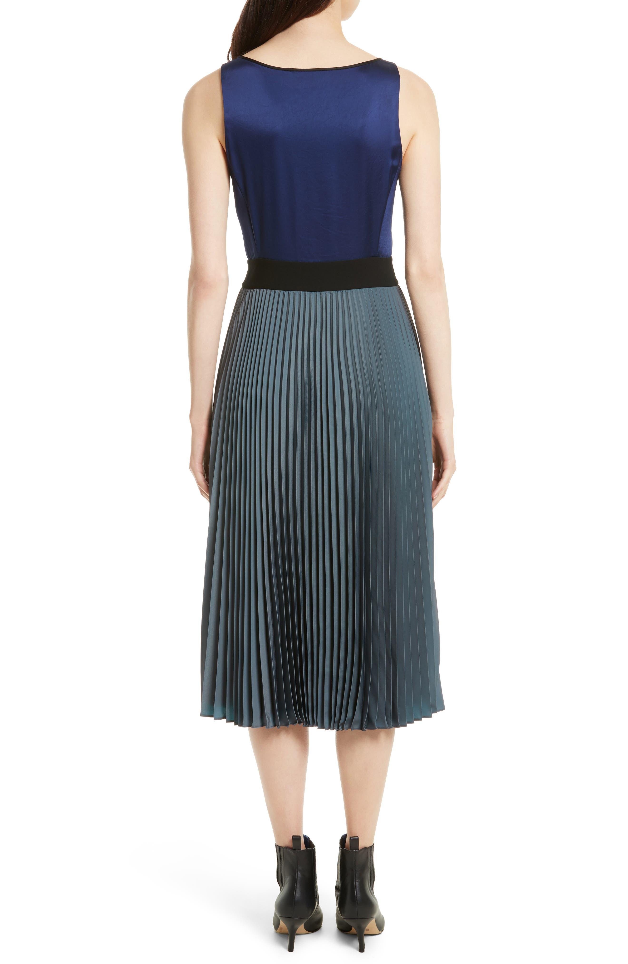 Alternate Image 2  - Diane von Furstenberg V-Neck Pleated Wrap Dress