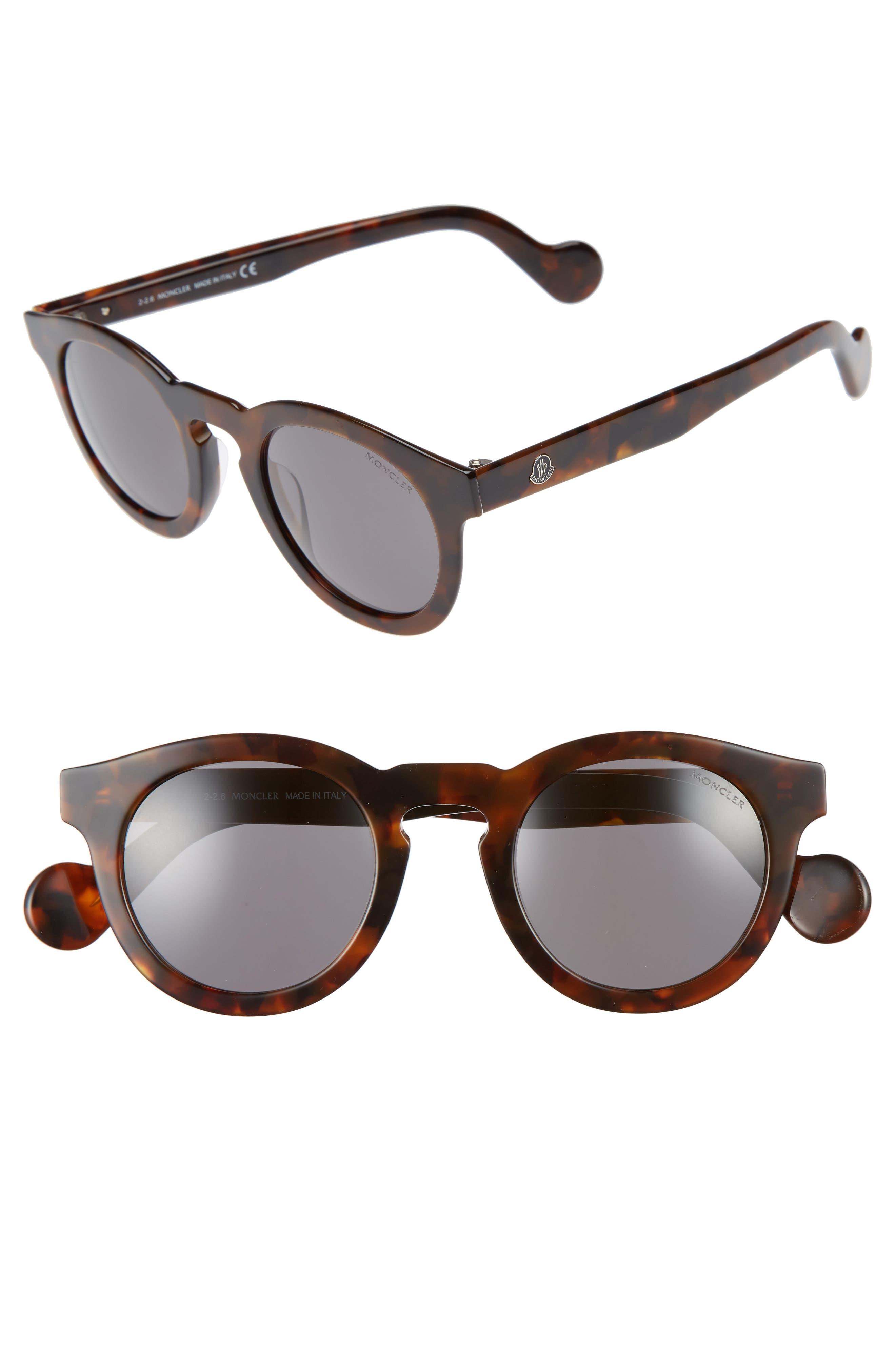 Main Image - Moncler 49mm Keyhole Sunglasses