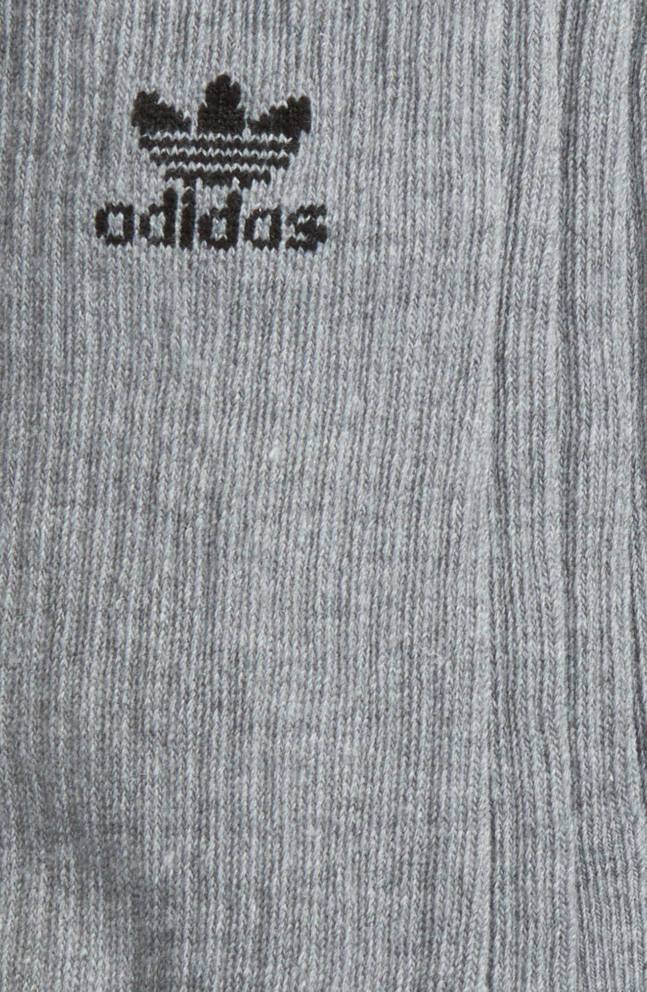Alternate Image 2  - adidas Originals 6-Pack Original Trefoil Crew Socks