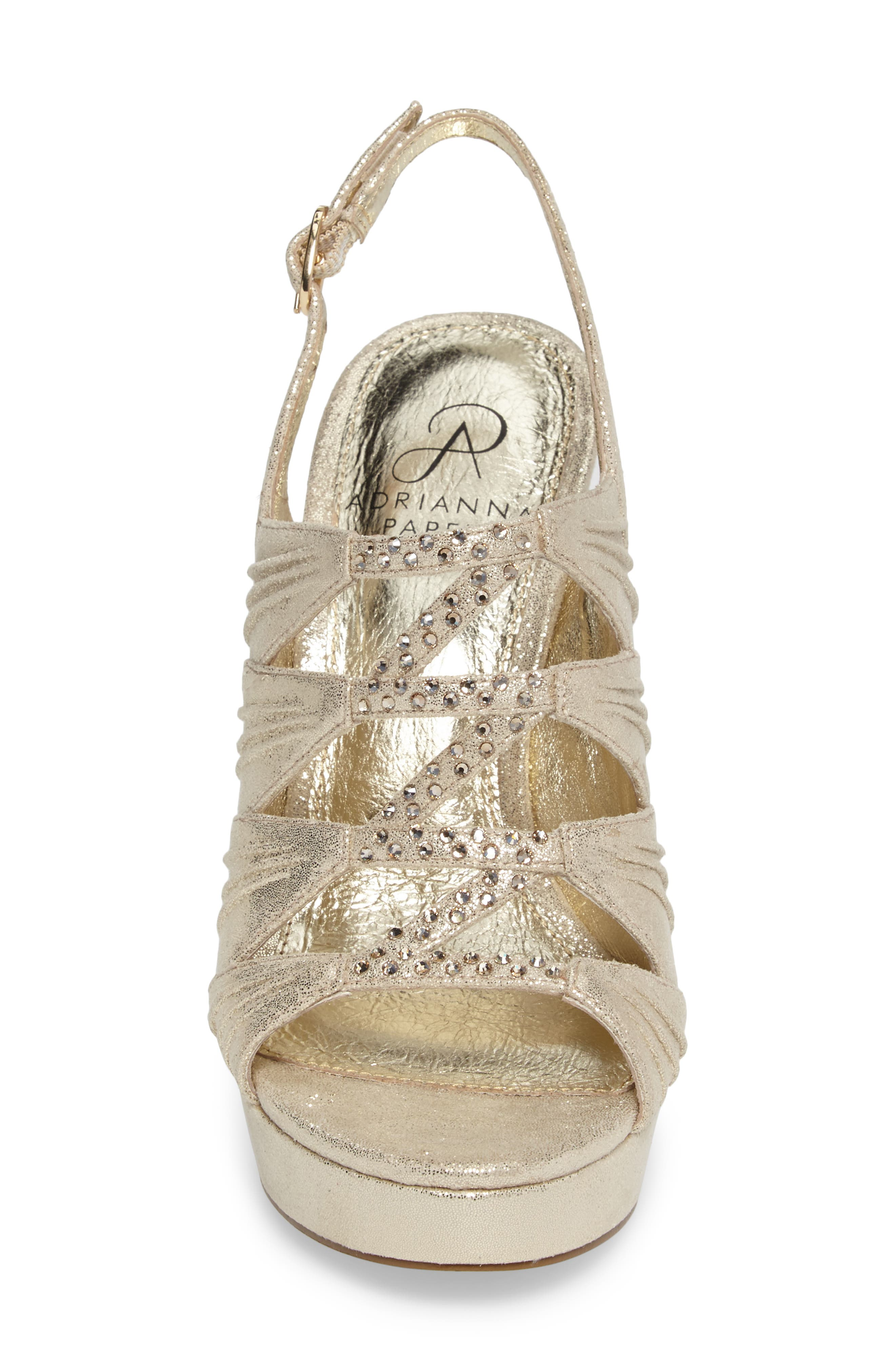 Alternate Image 4  - Adrianna Pappell Marissa Platform Sandal (Women)