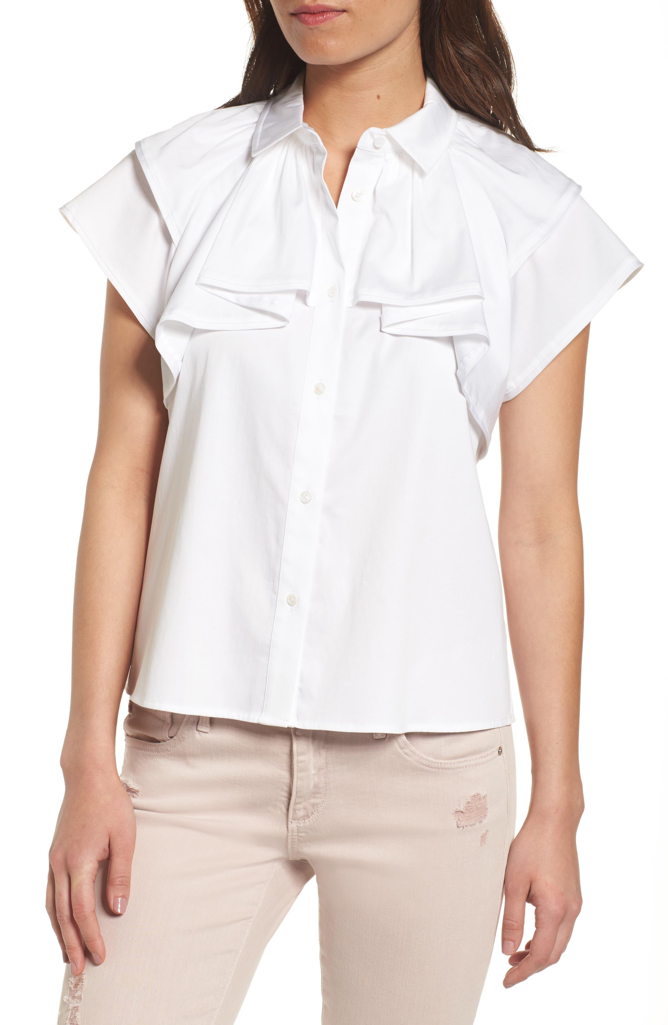 AG Marina Stretch Cotton Top