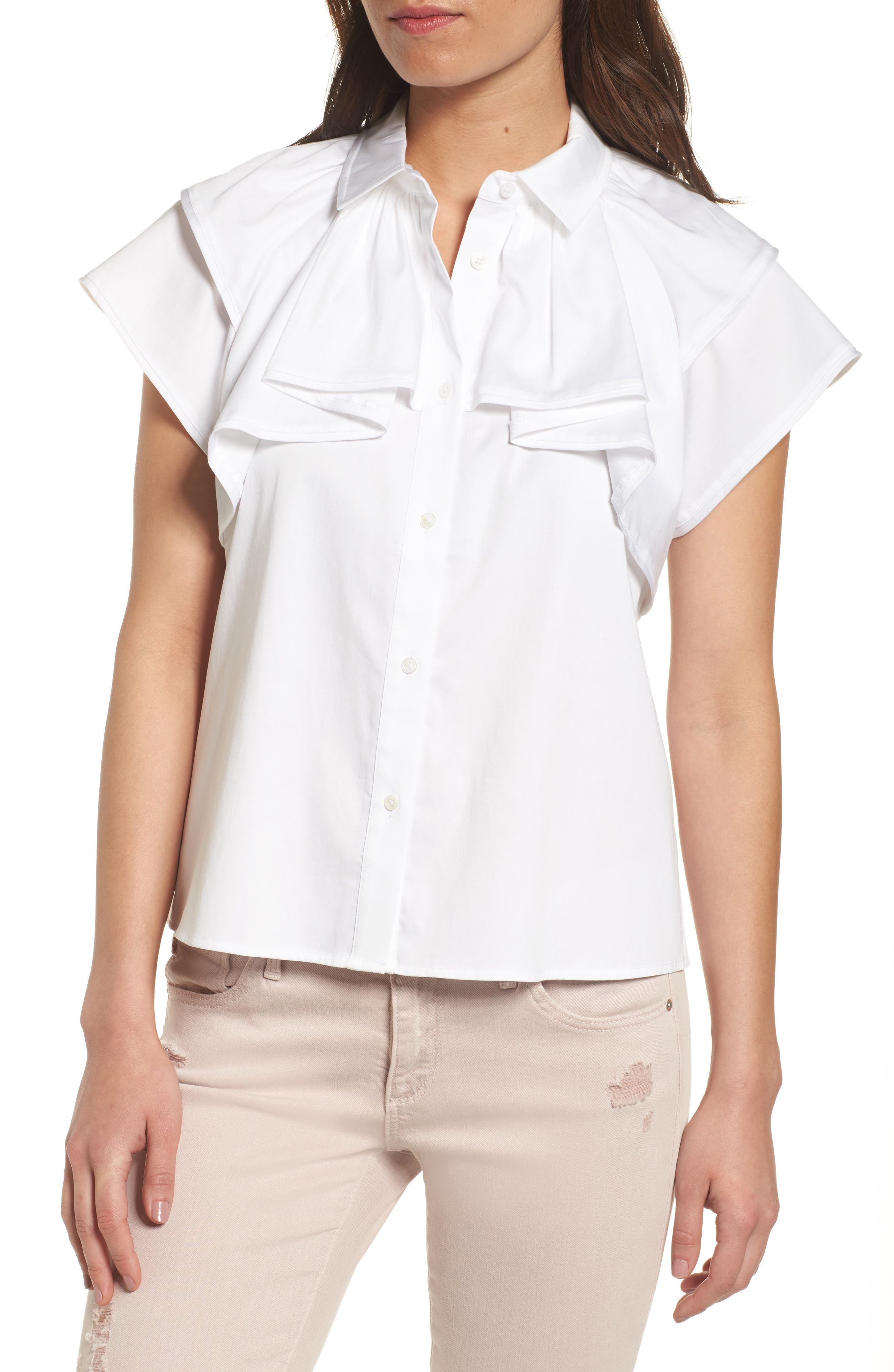 AG Marina Stretch Cotton Top