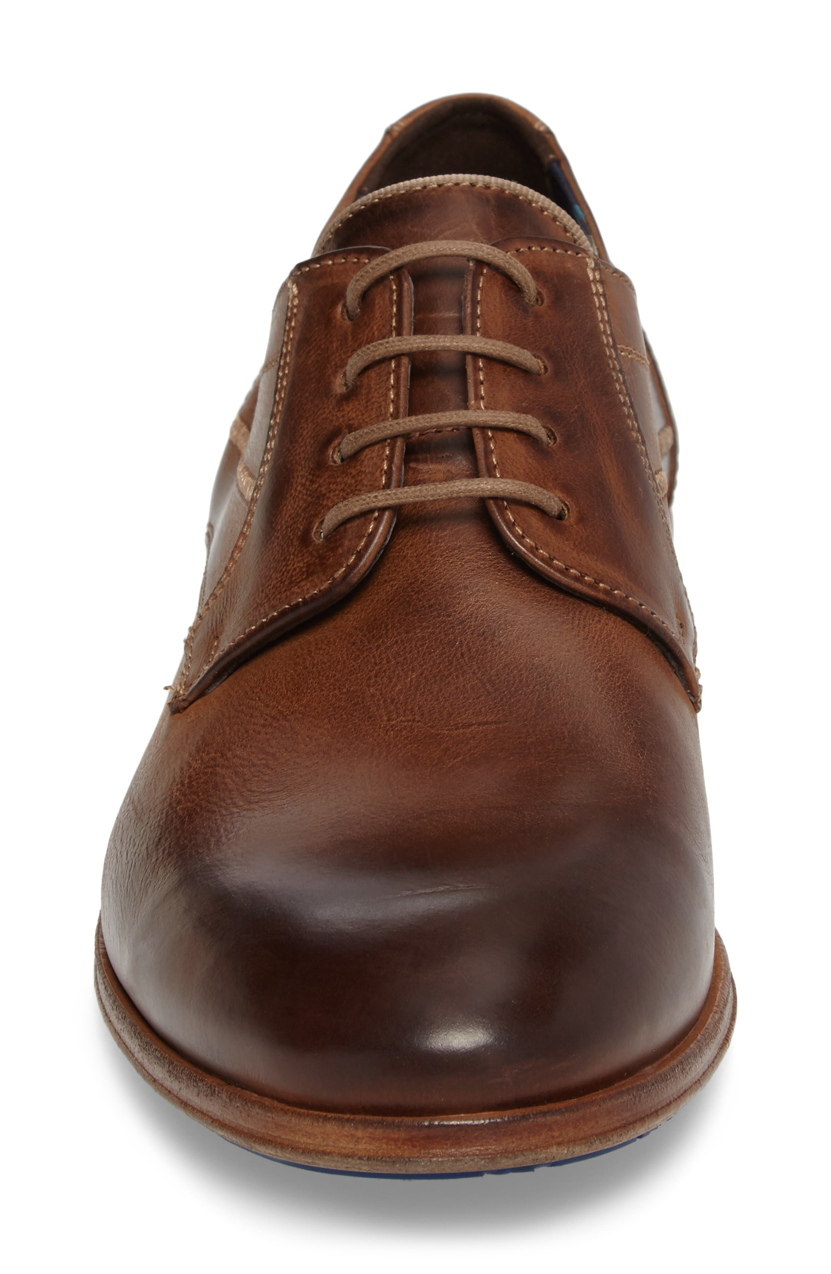 Jessy Plain-Toe Derby,                             Alternate thumbnail 4, color,                             Kenia Leather