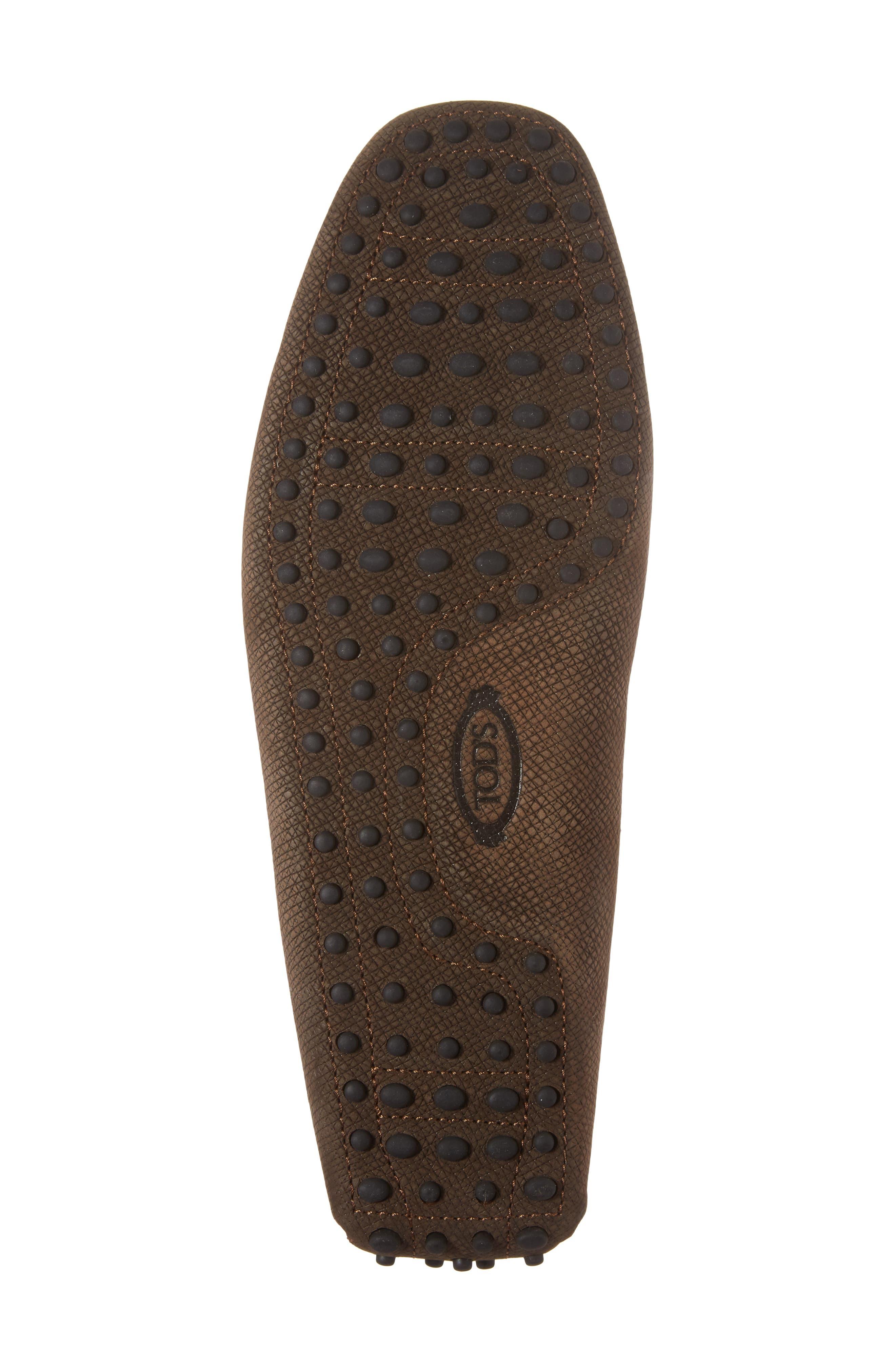 Alternate Image 6  - Tod's Gommin Textured Driving Shoe (Men)