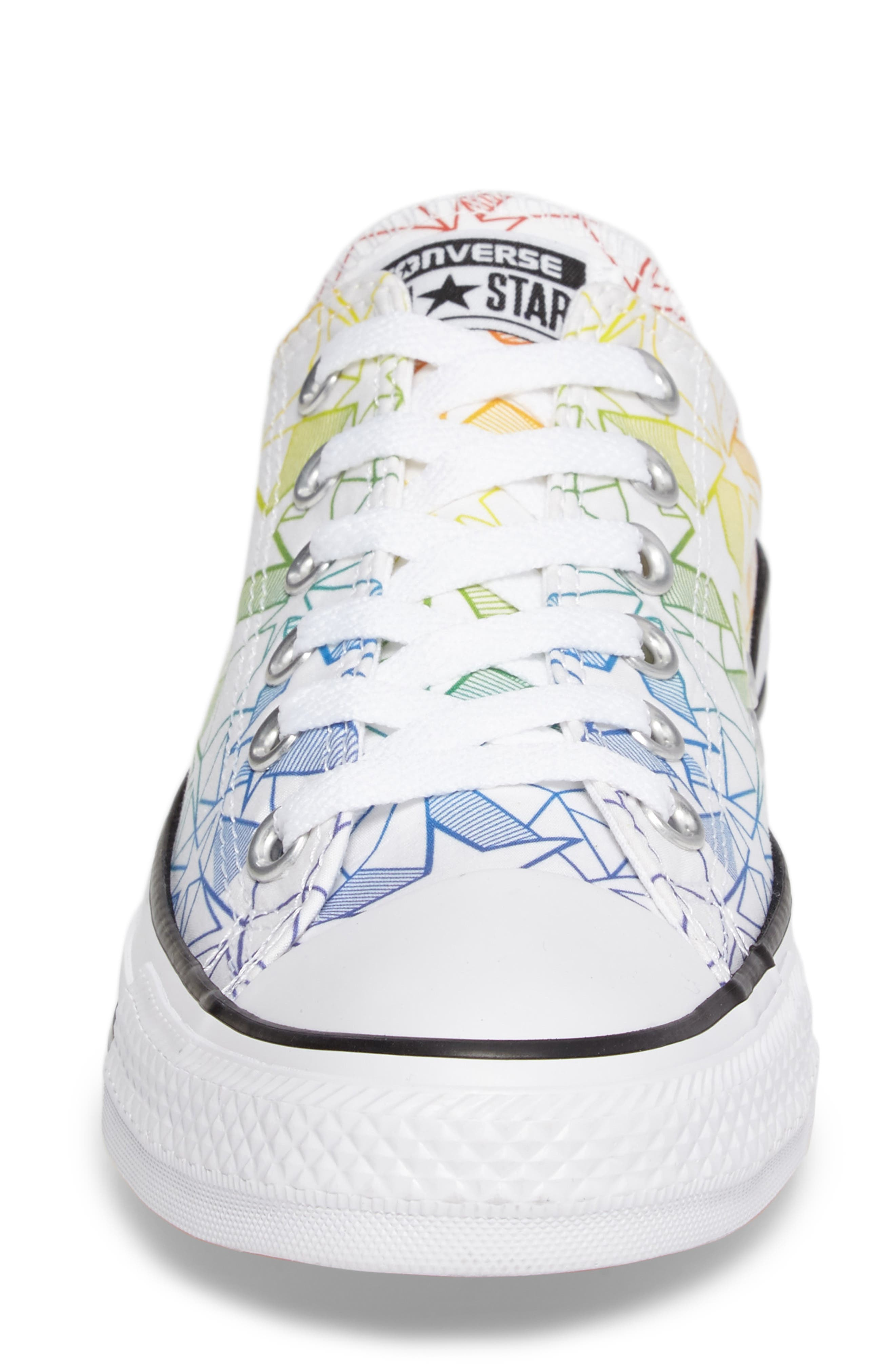 Alternate Image 4  - Converse Chuck Taylor® All Star® Pride Low Top Sneaker (Women)