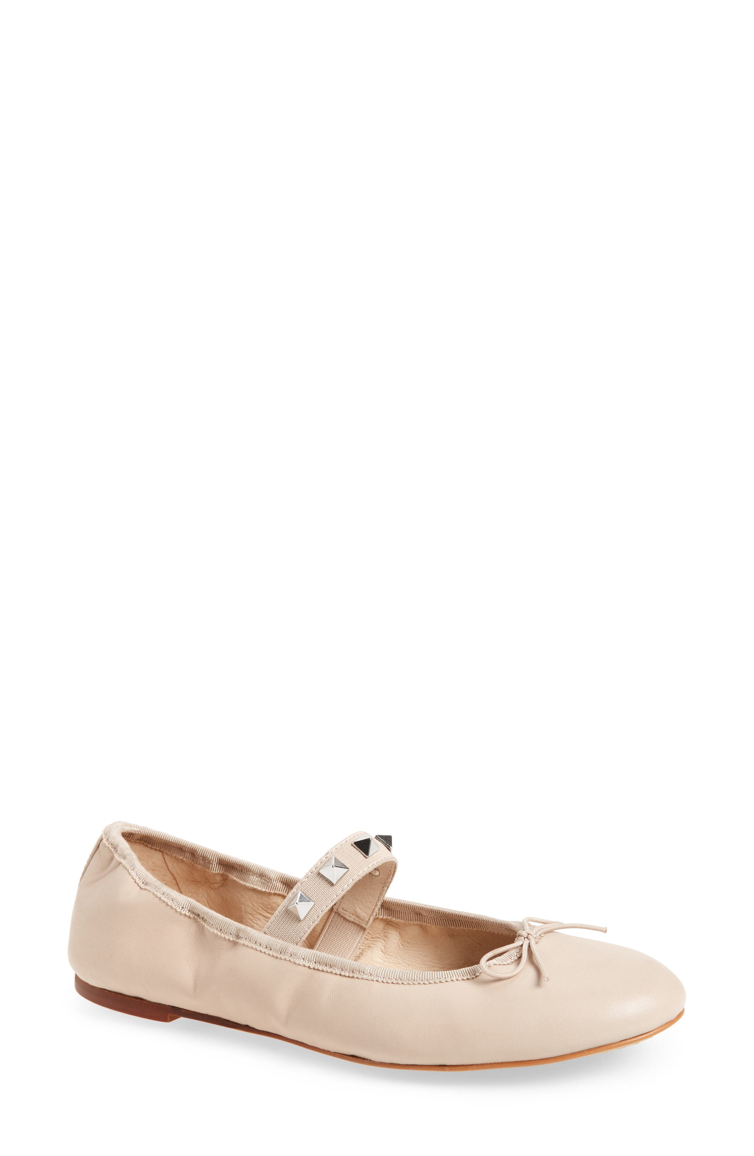 VINCE CAMUTO Prilla Studded Ballet Flat