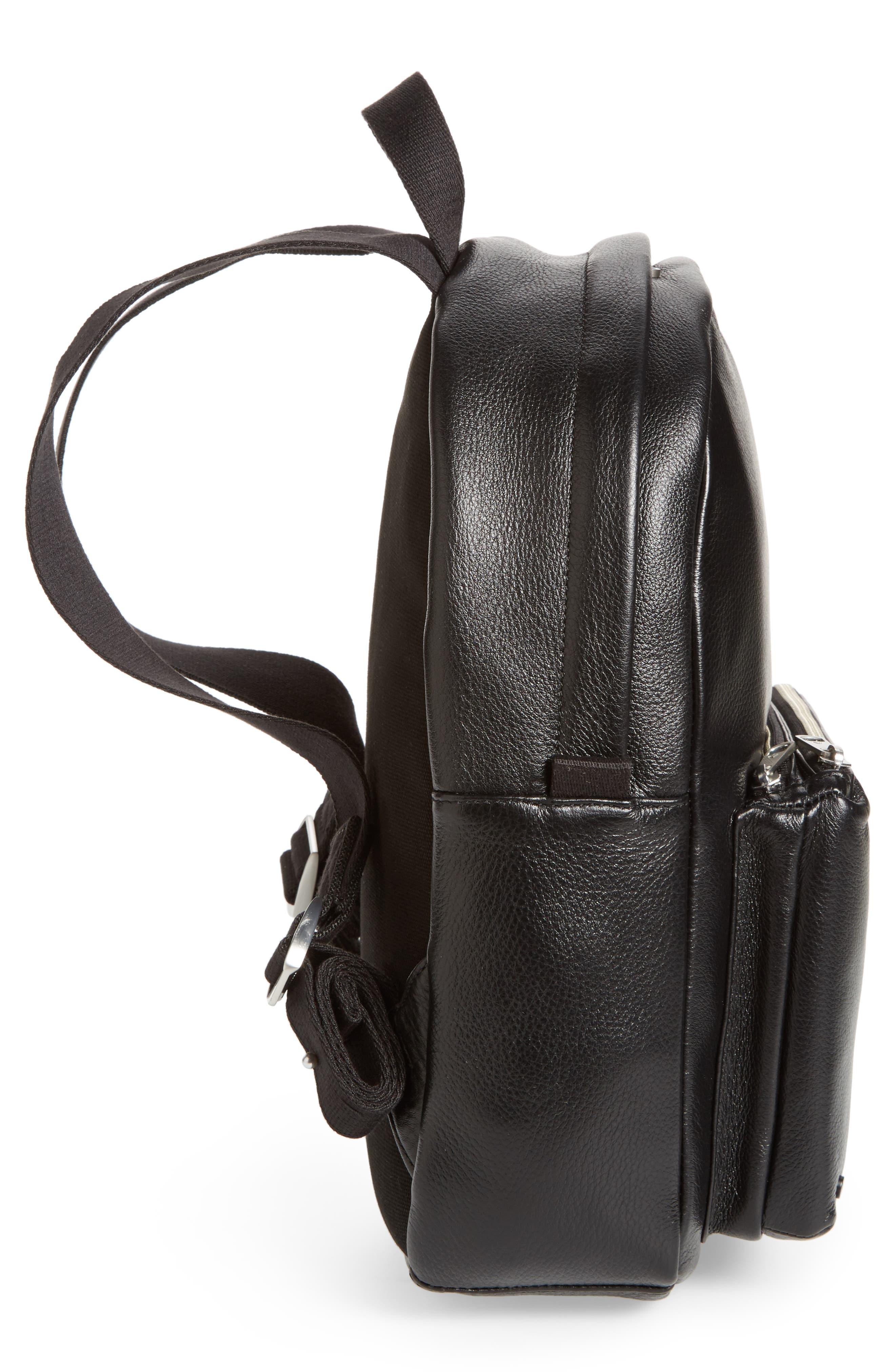 Alternate Image 5  - STATE Bags Greenwood Mini Lorimer Leather Backpack