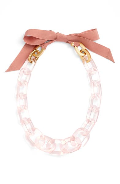 Main Image - J.Crew Lucite® Link Necklace