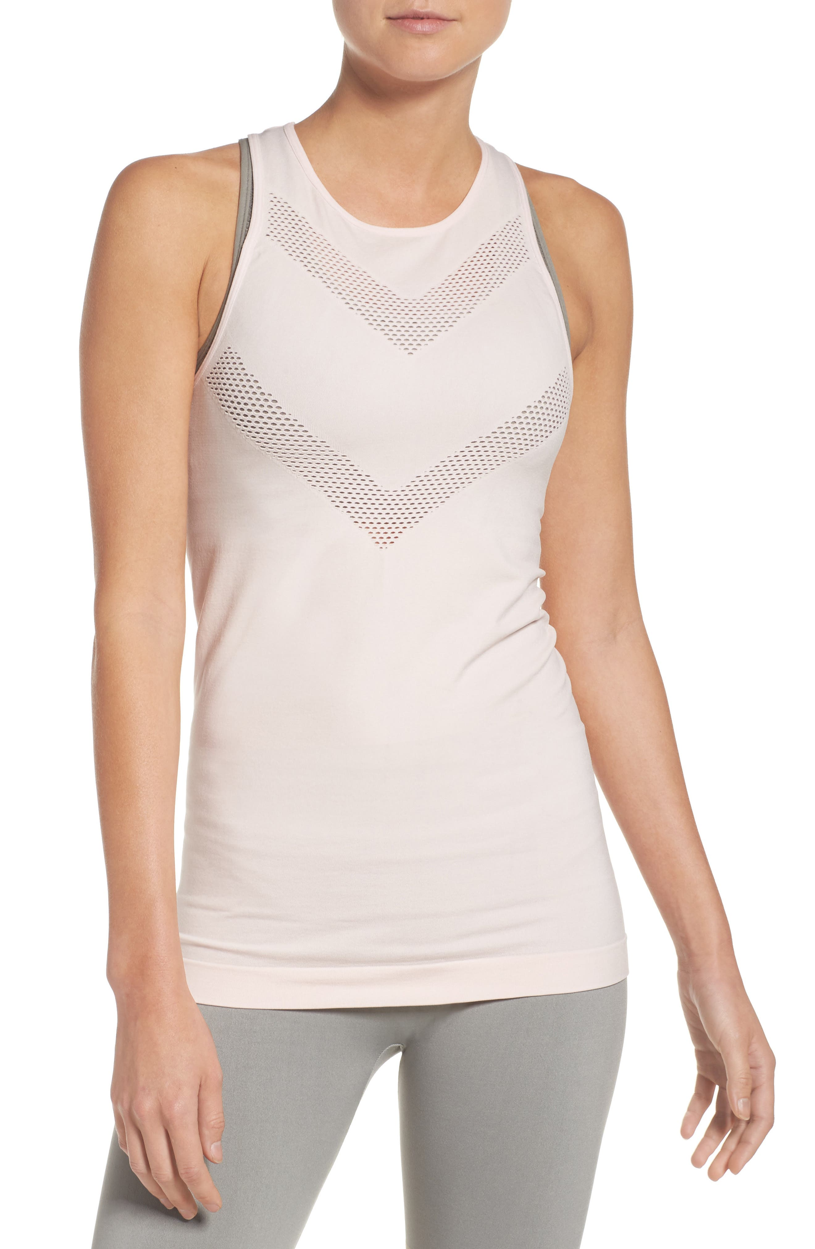 Perf Perfection Singlet,                         Main,                         color, Crystal Pink