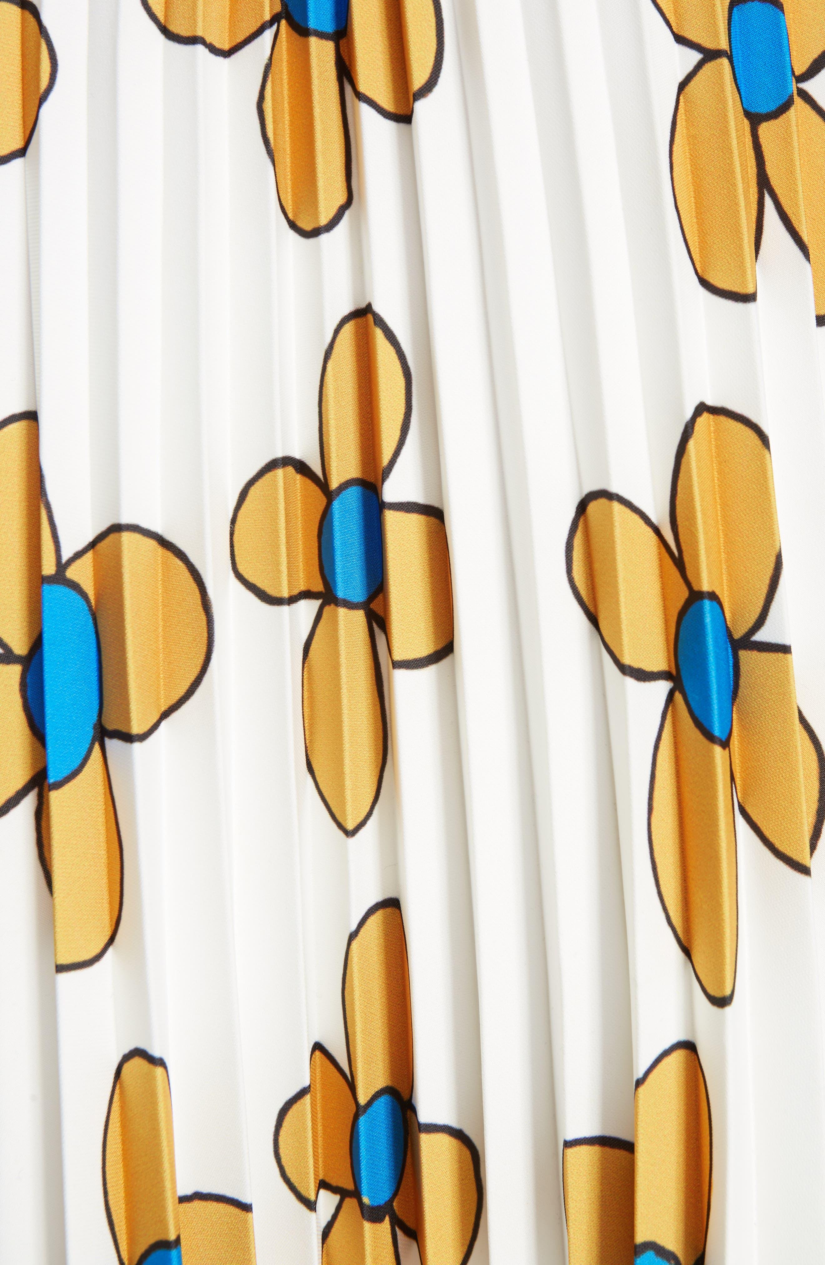 Alternate Image 3  - Christopher Kane Flower Print Midi Skirt