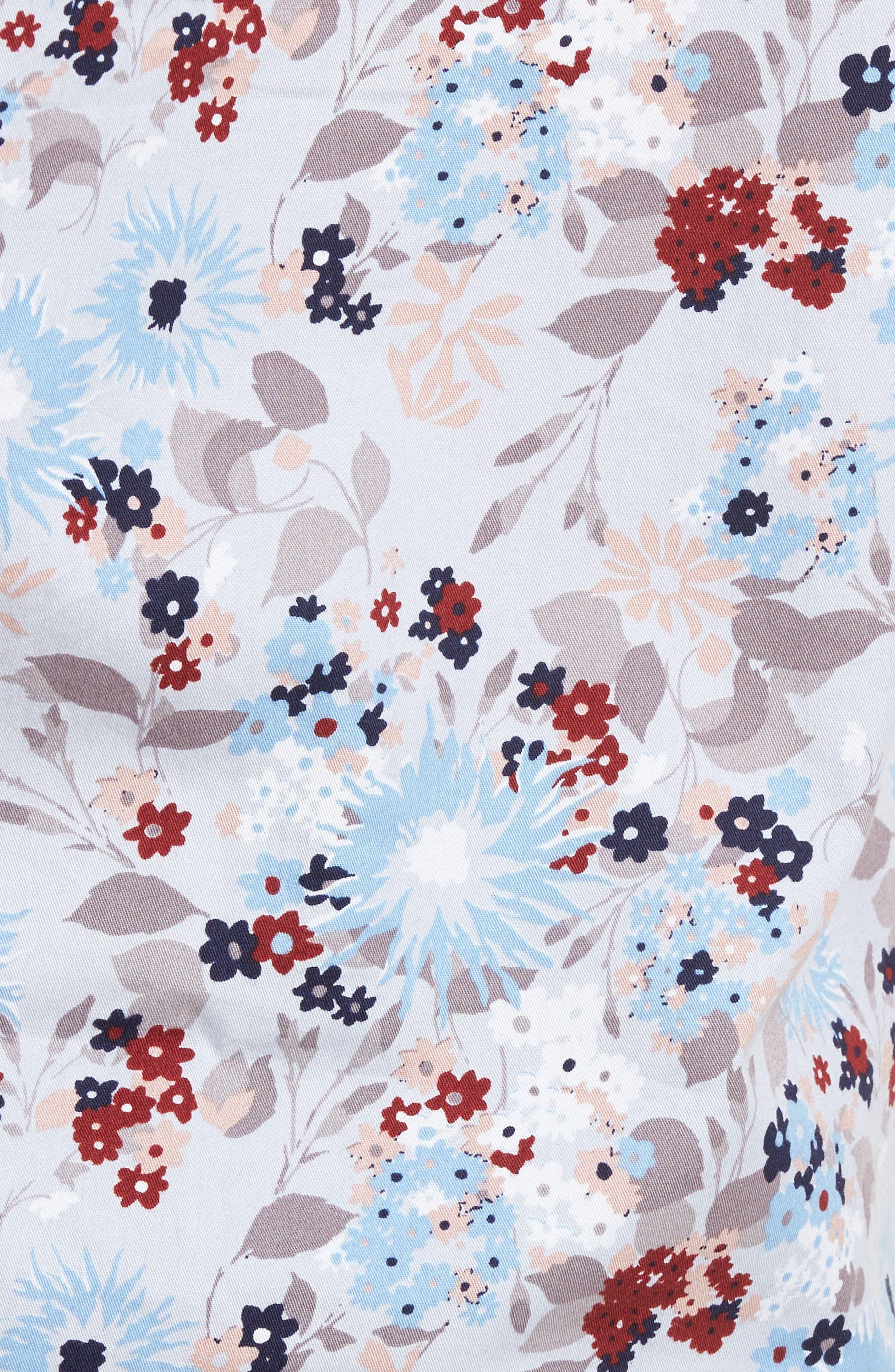 Alternate Image 5  - 1901 Floral Print Shirt