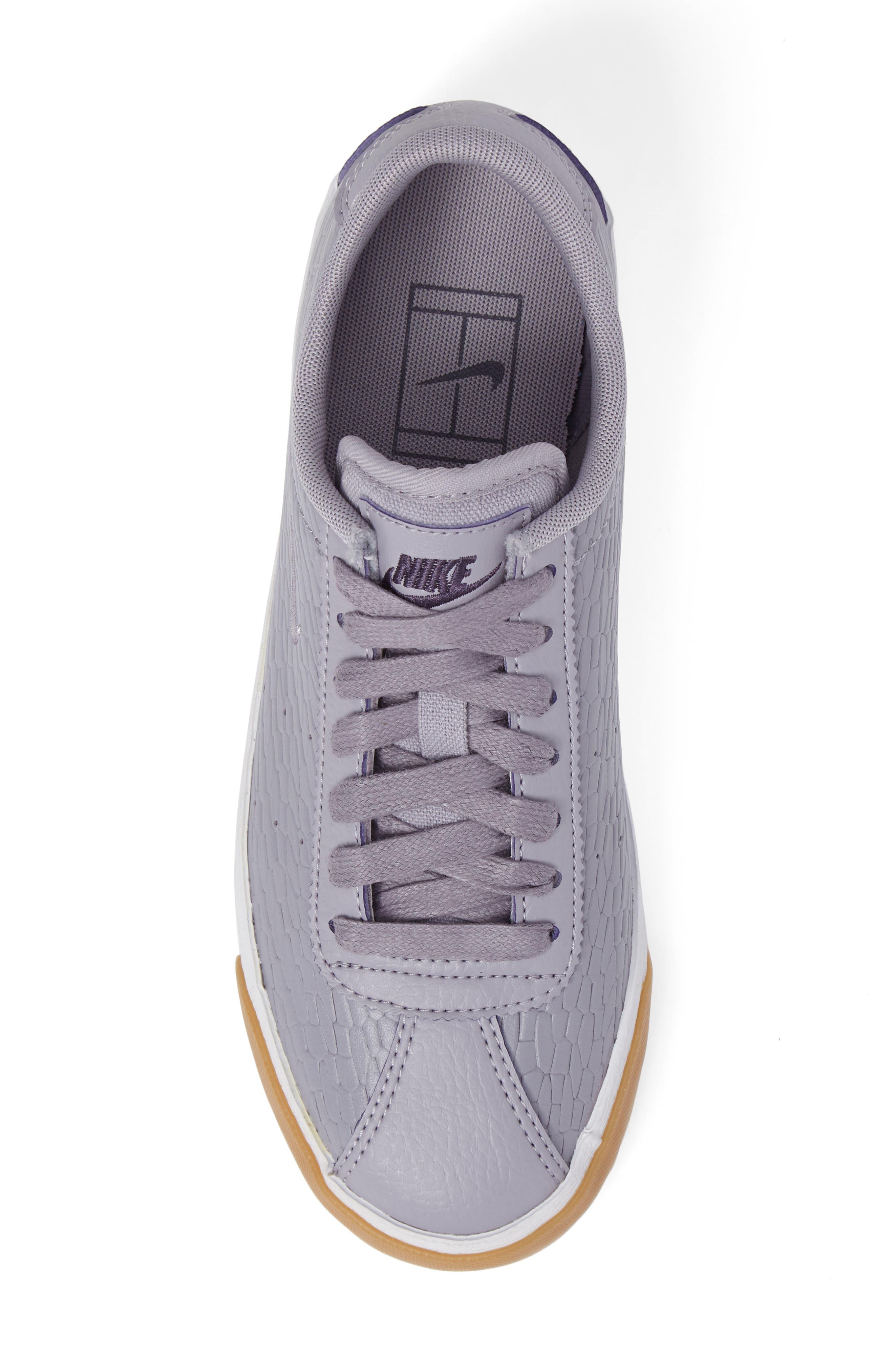Match Classic Sneaker,                             Alternate thumbnail 5, color,                             Provence Purple/ Purple