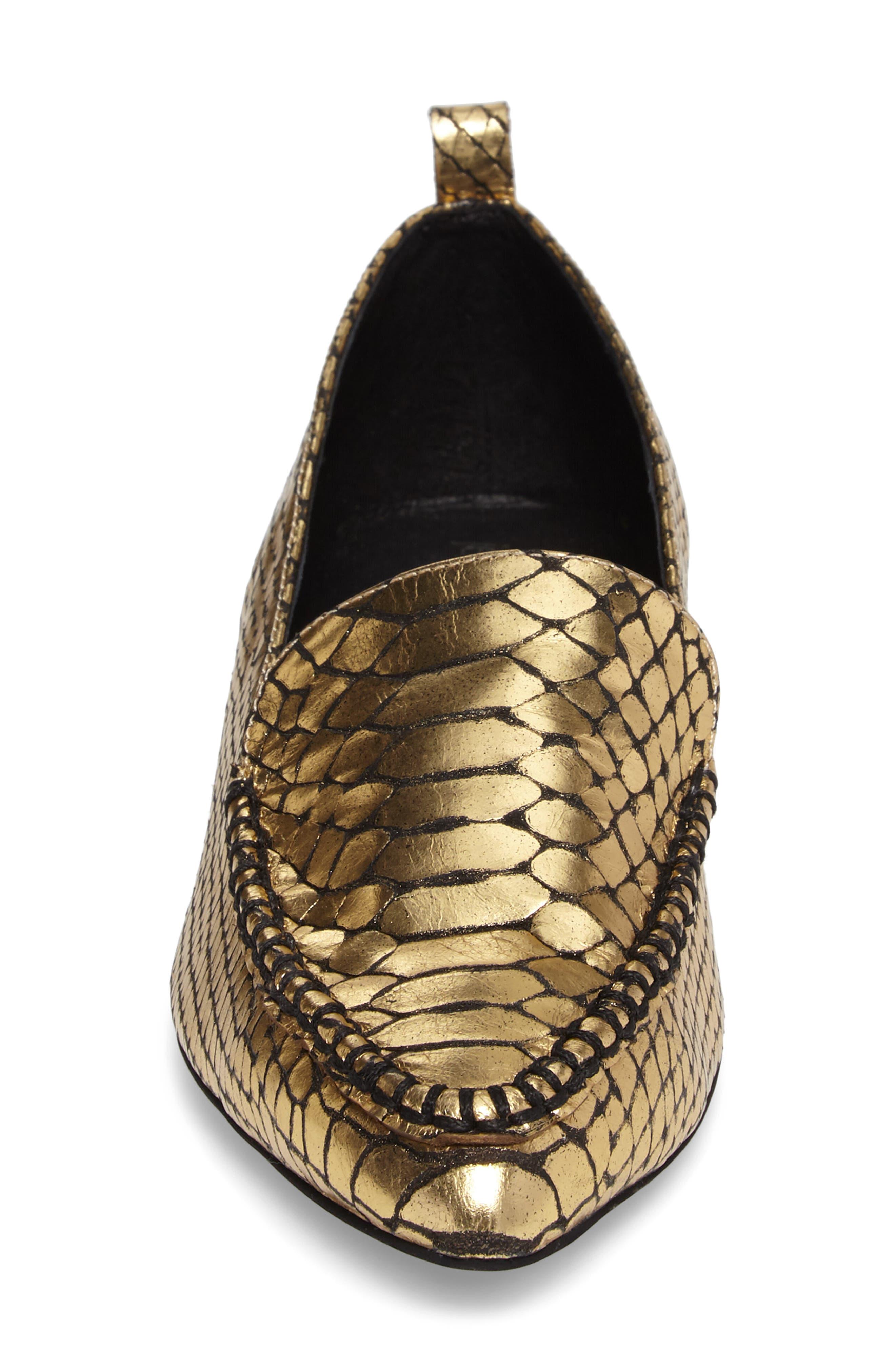Alternate Image 4  - Jeffrey Campbell Barnett Studded Loafer (Women)