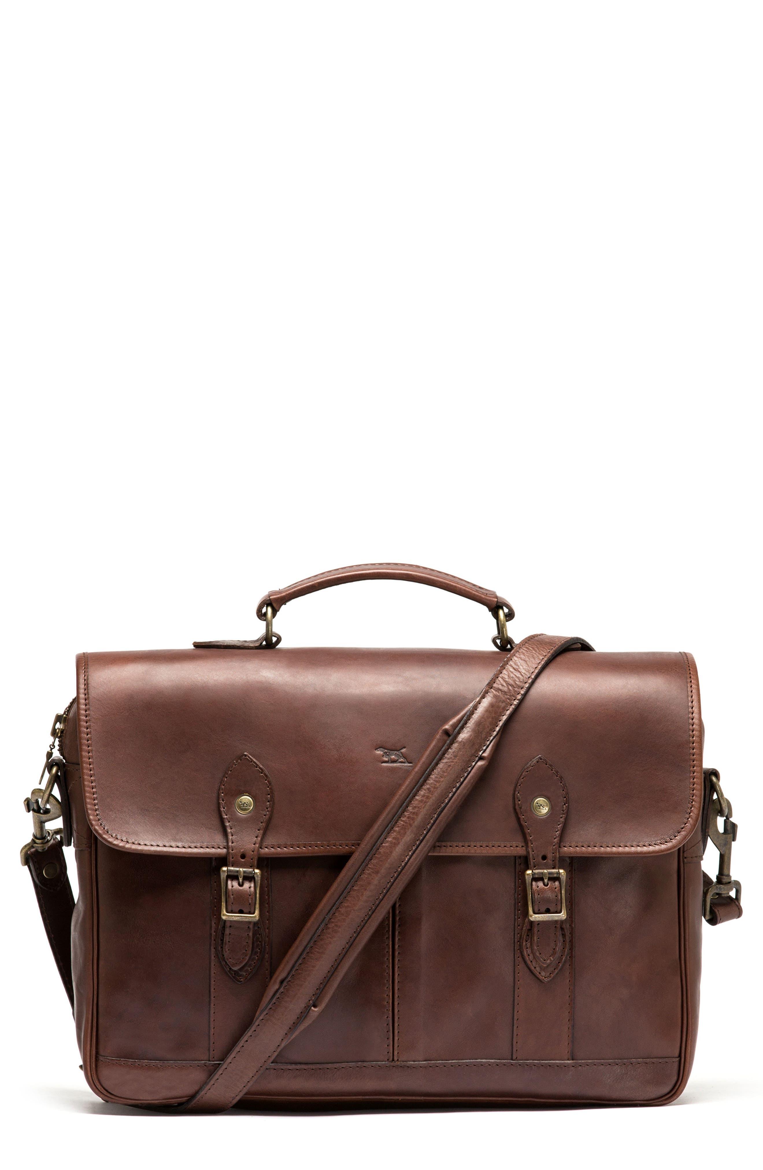 RODD & GUNN Leather Briefcase