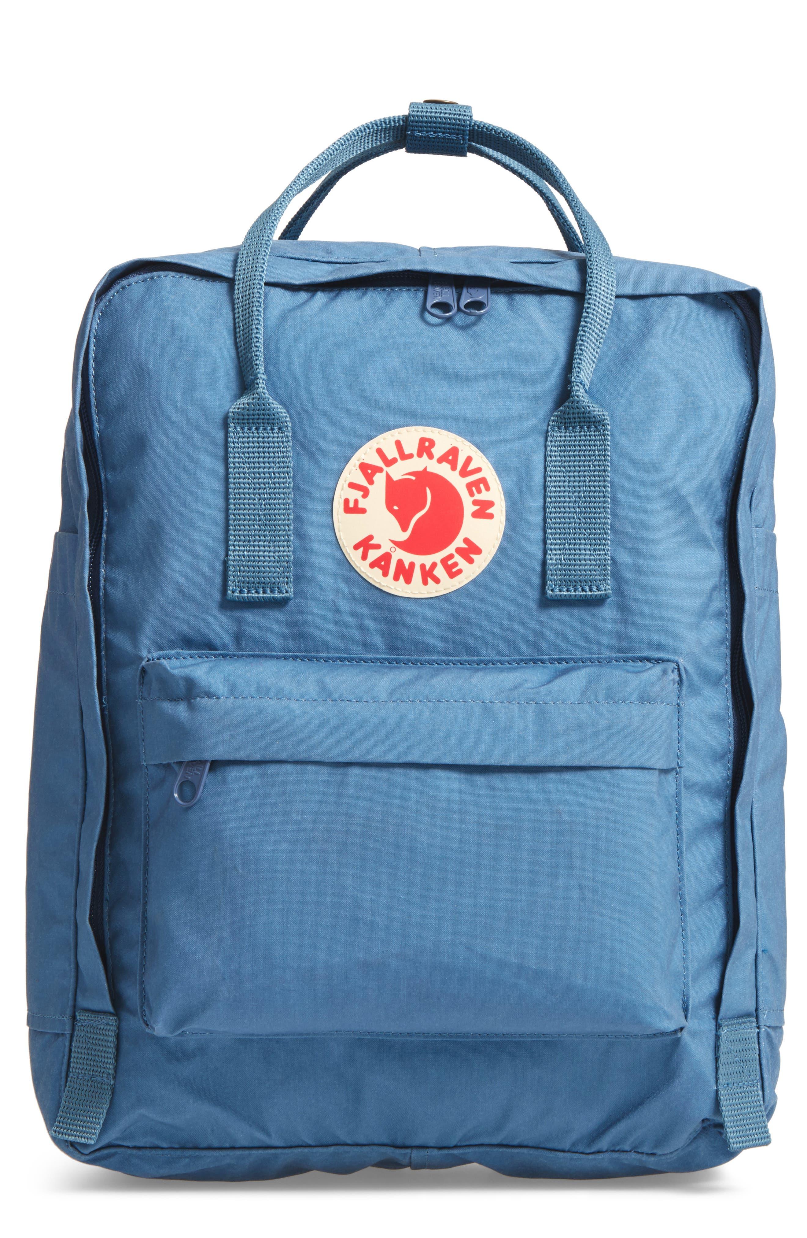 'Kånken' Water Resistant Backpack,                             Main thumbnail 1, color,                             Blue Ridge