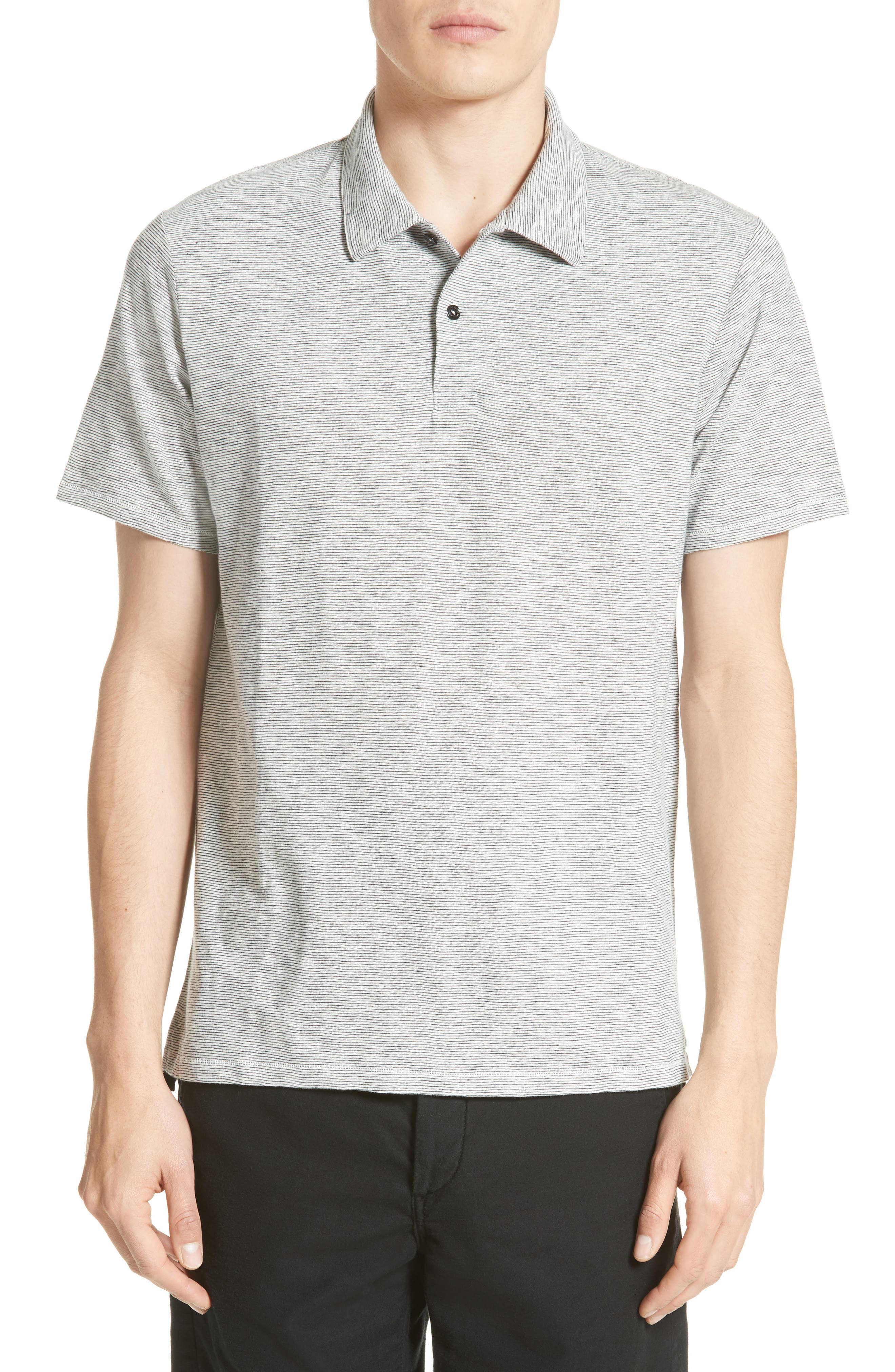 rag & bone Owen Stripe Polo
