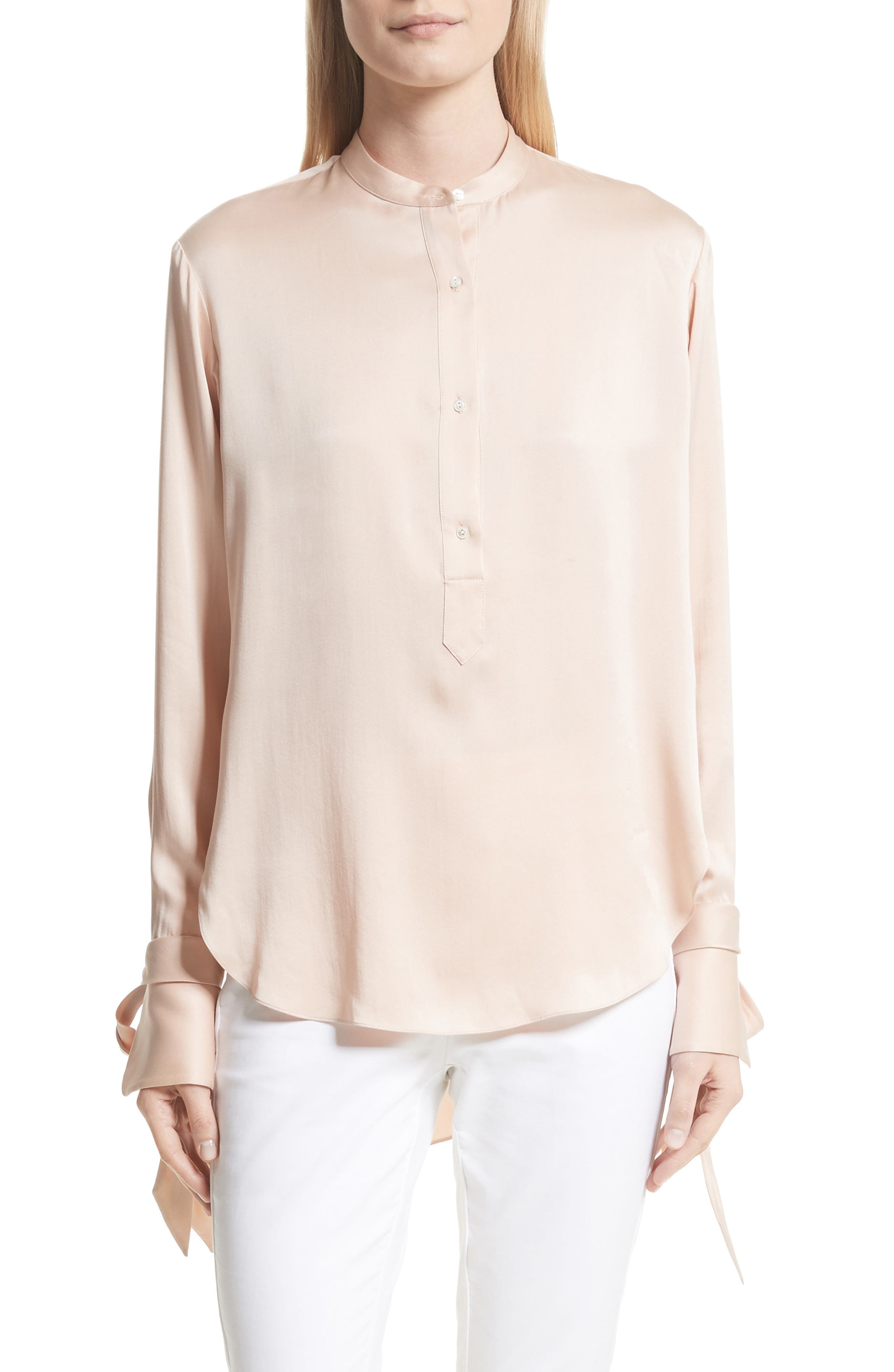 Dylan Shirt,                         Main,                         color, Dusty Rose