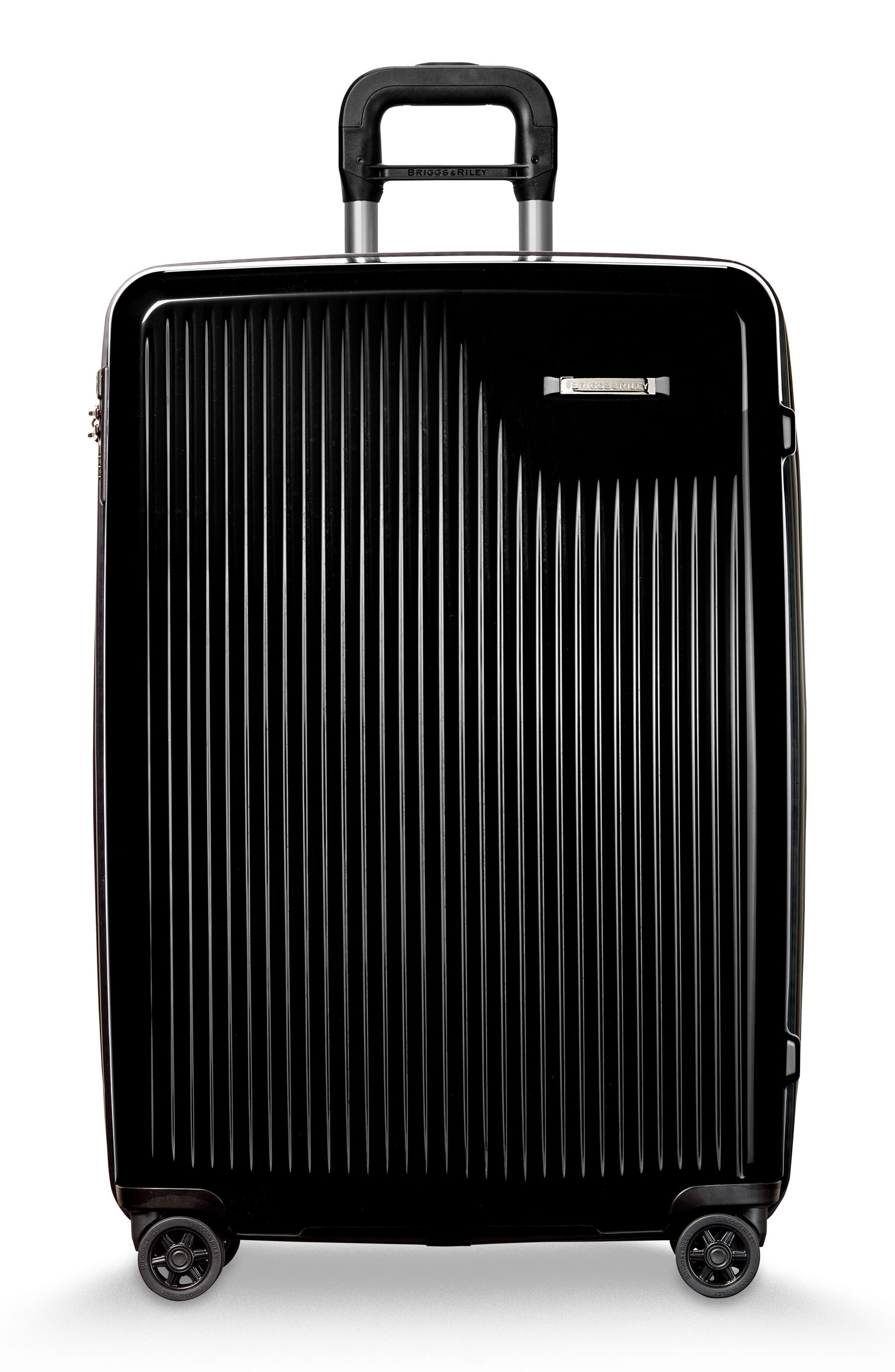 Sympatico 30-Inch Expandable Wheeled Packing Case,                         Main,                         color, Onyx