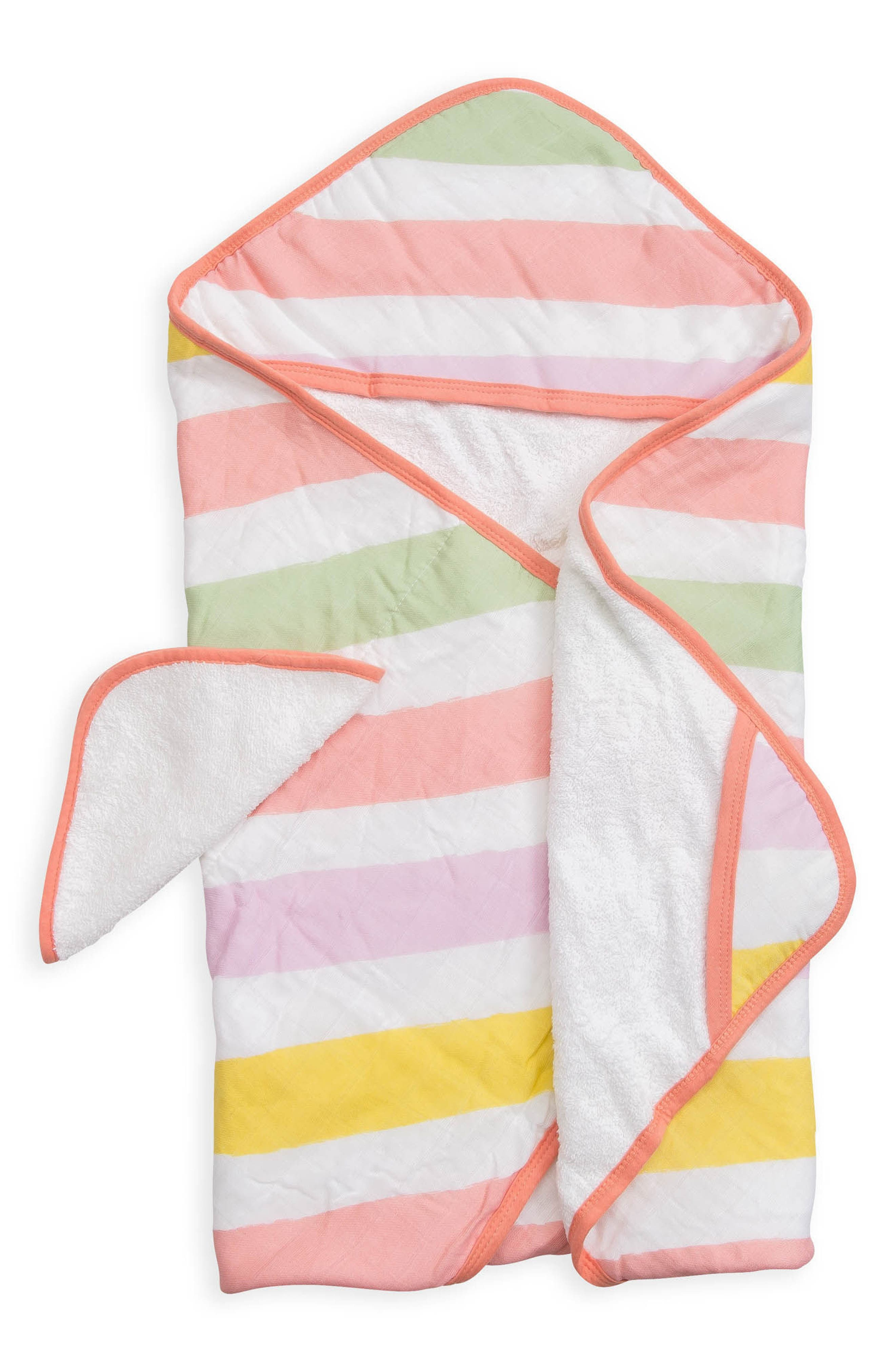 little unicorn Hooded Towel & Wash Cloth Set