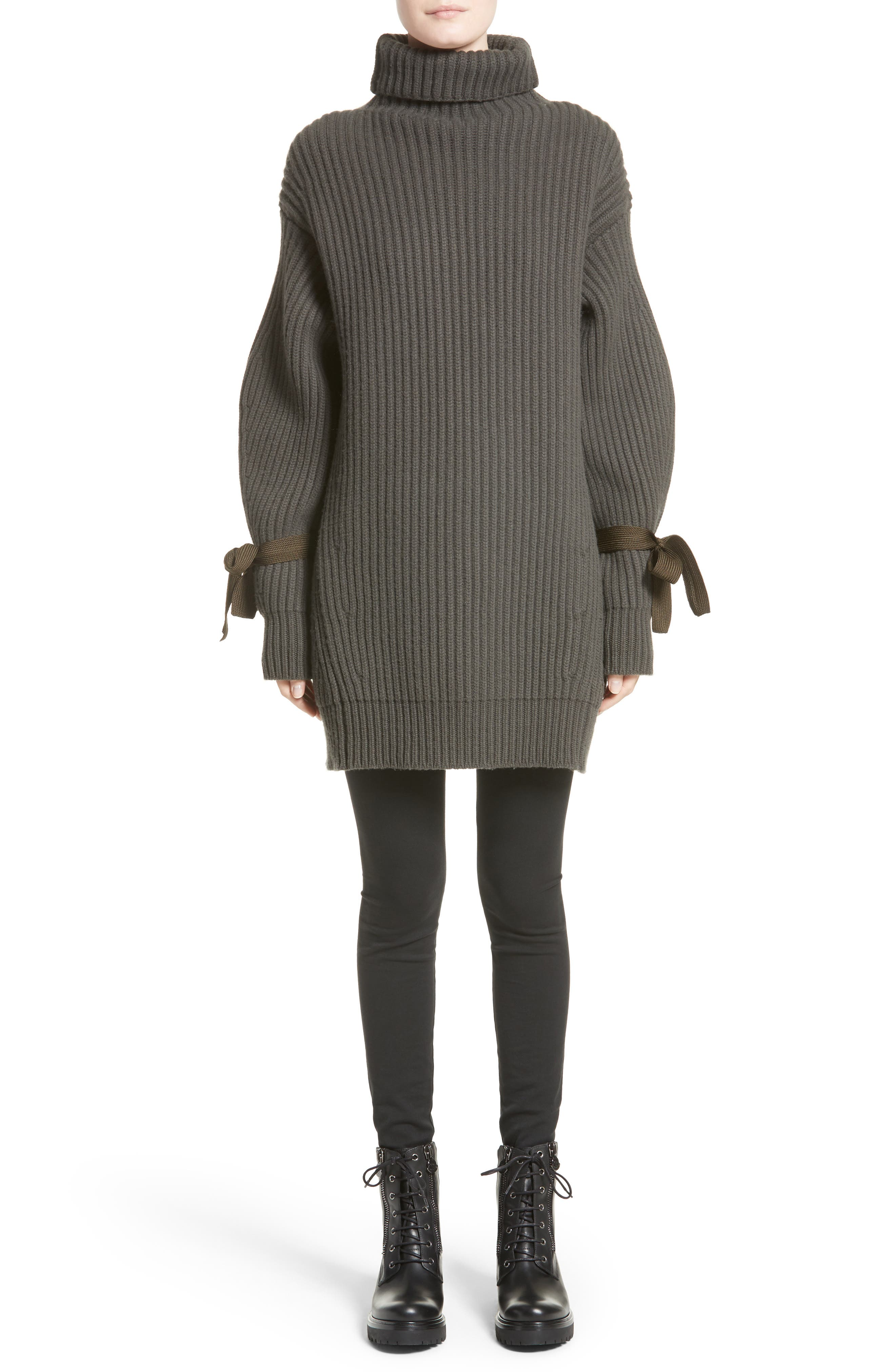 Alternate Image 1 Selected - Moncler Ciclista Wool & Cashmere Sweater