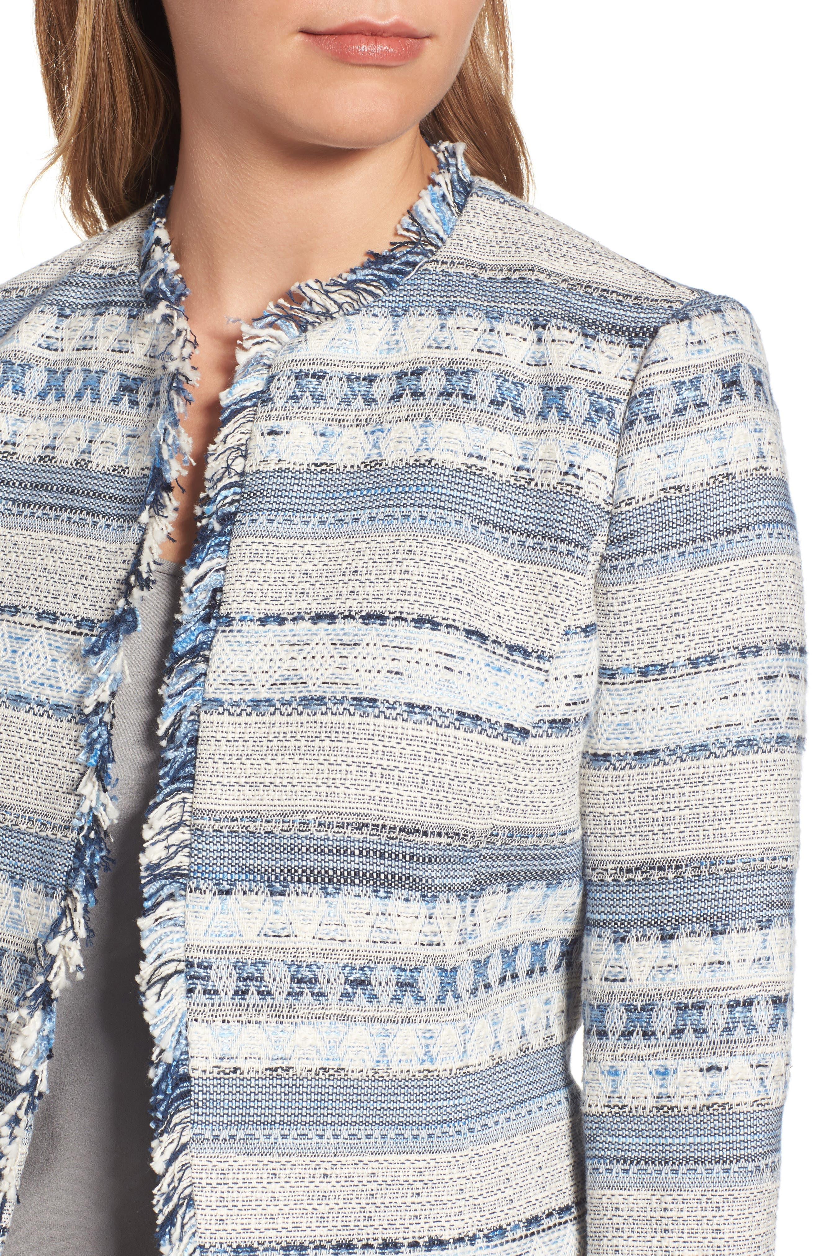 Alternate Image 4  - Anne Klein Tweed Jacket