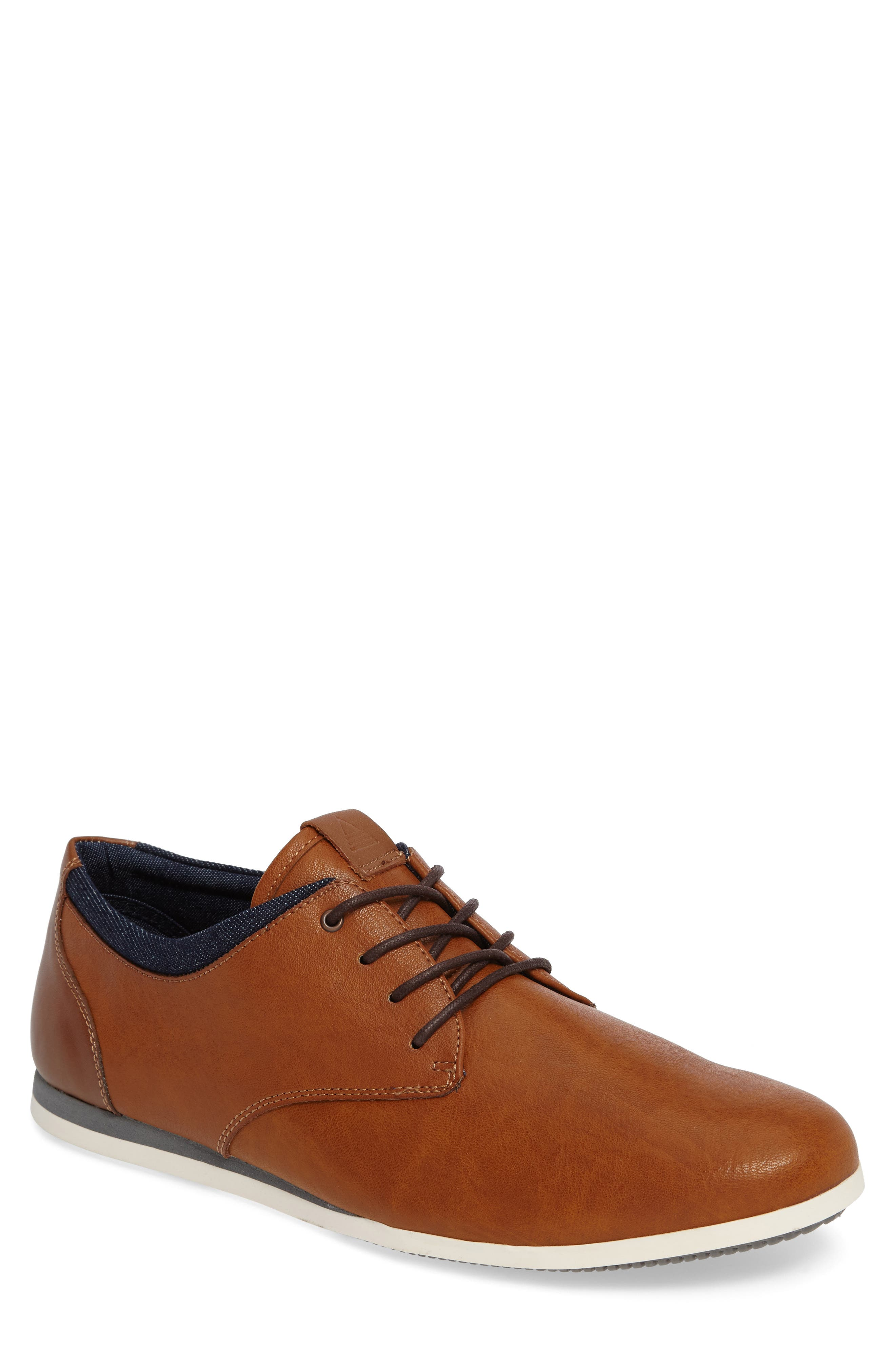 Alternate Image 1 Selected - ALDO Aauwen Plain Toe Derby (Men)