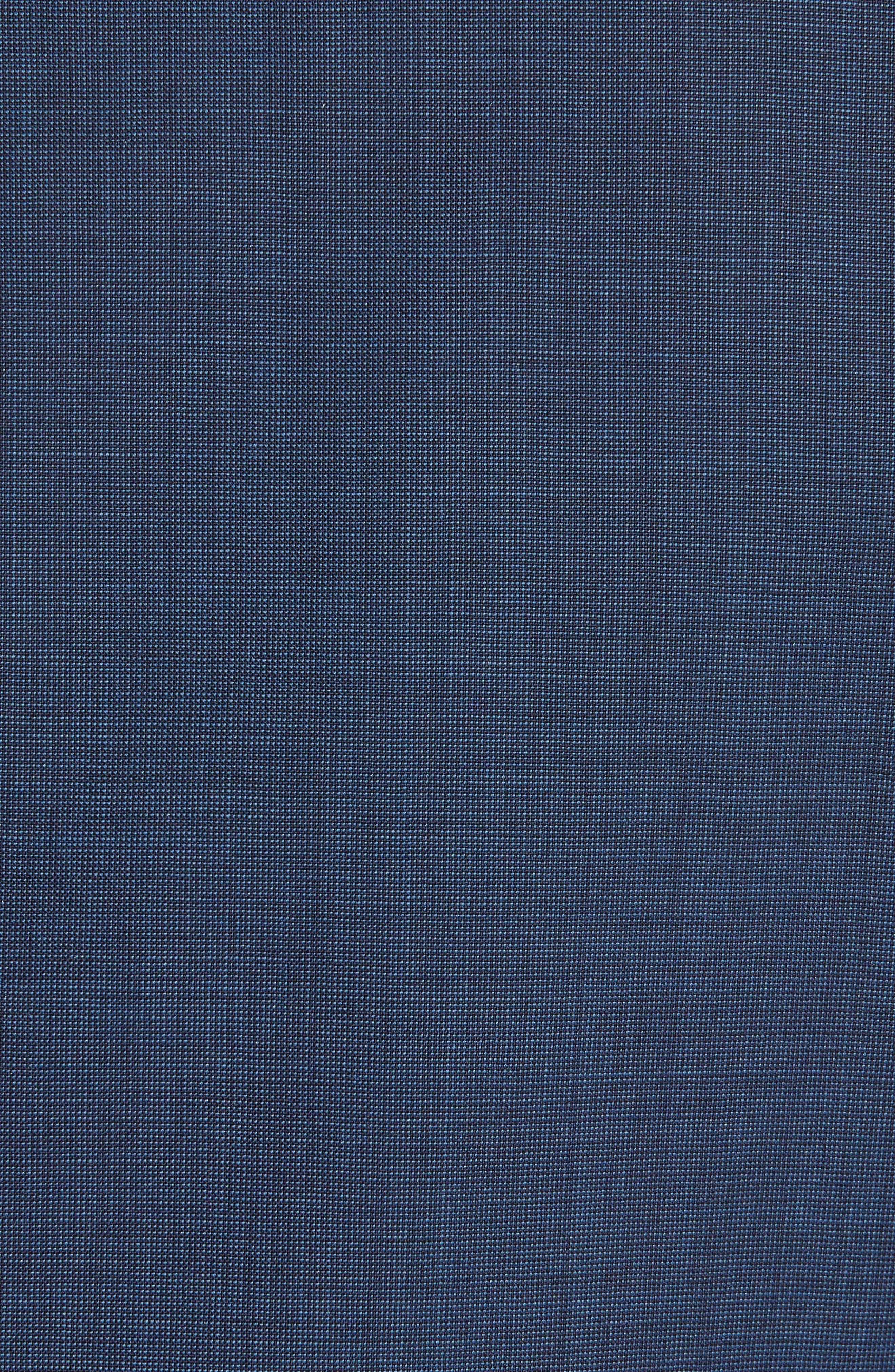 Alternate Image 7  - Z Zegna Drop 7 Trim Fit Solid Wool & Silk Suit