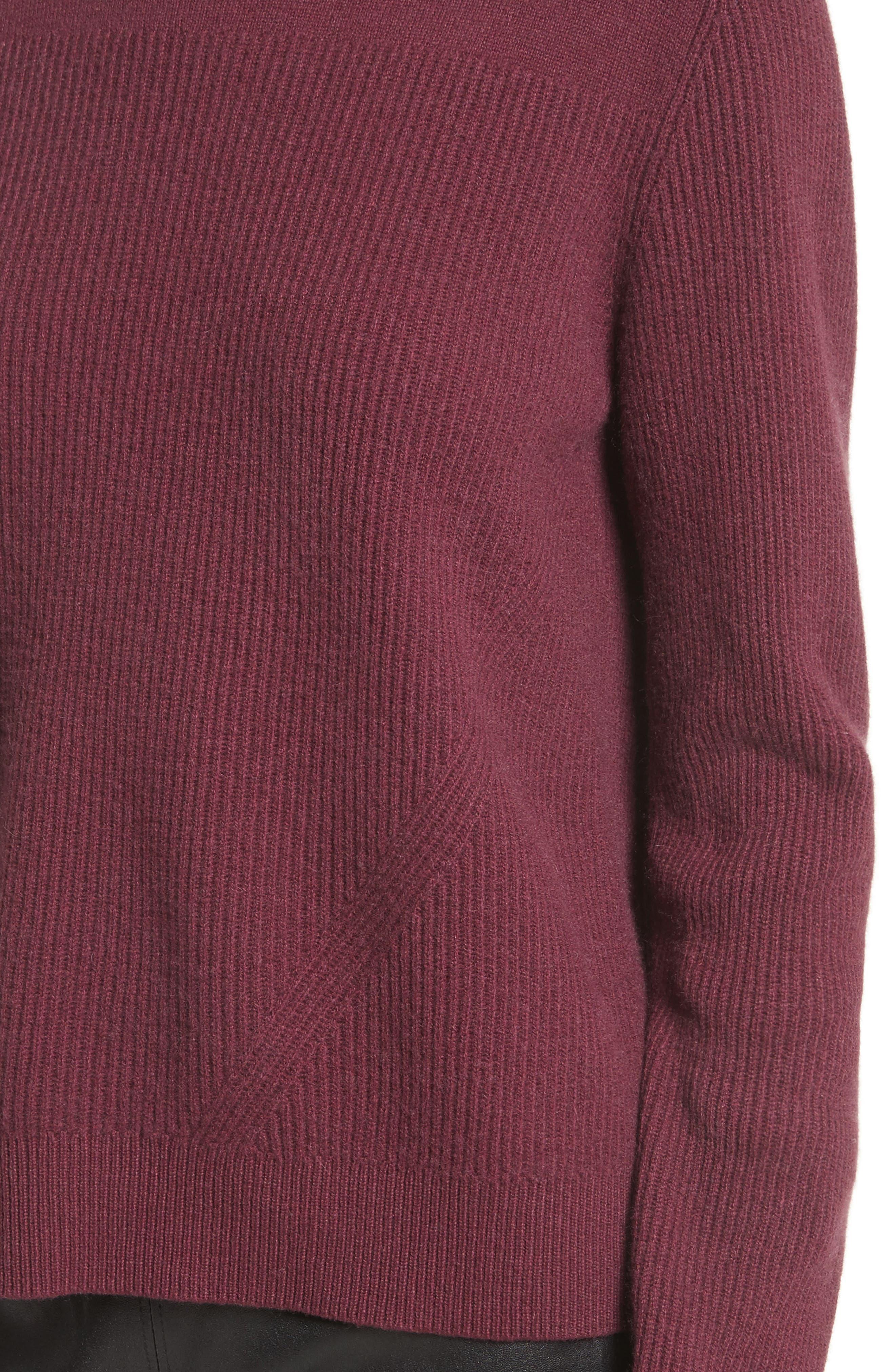 Alternate Image 4  - rag & bone Ace Cashmere Crop Sweater