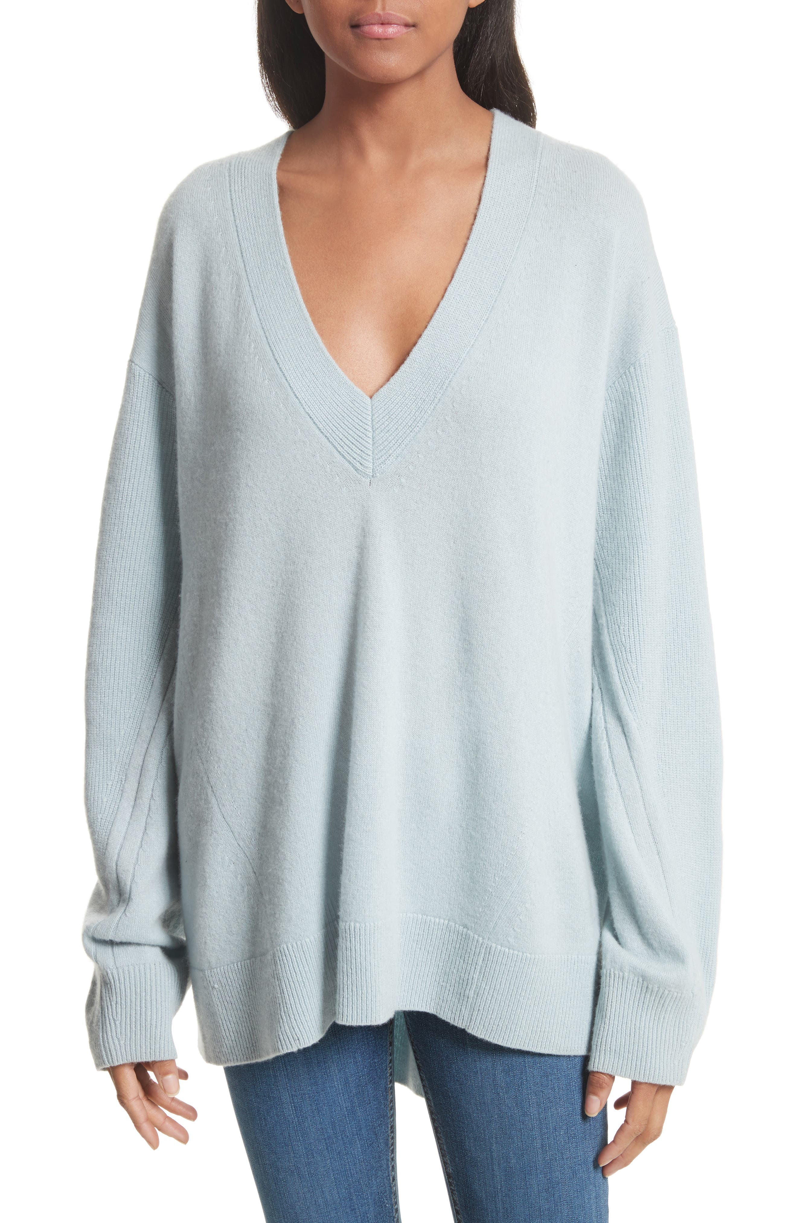 Alternate Image 1 Selected - rag & bone Ace Cashmere Sweater