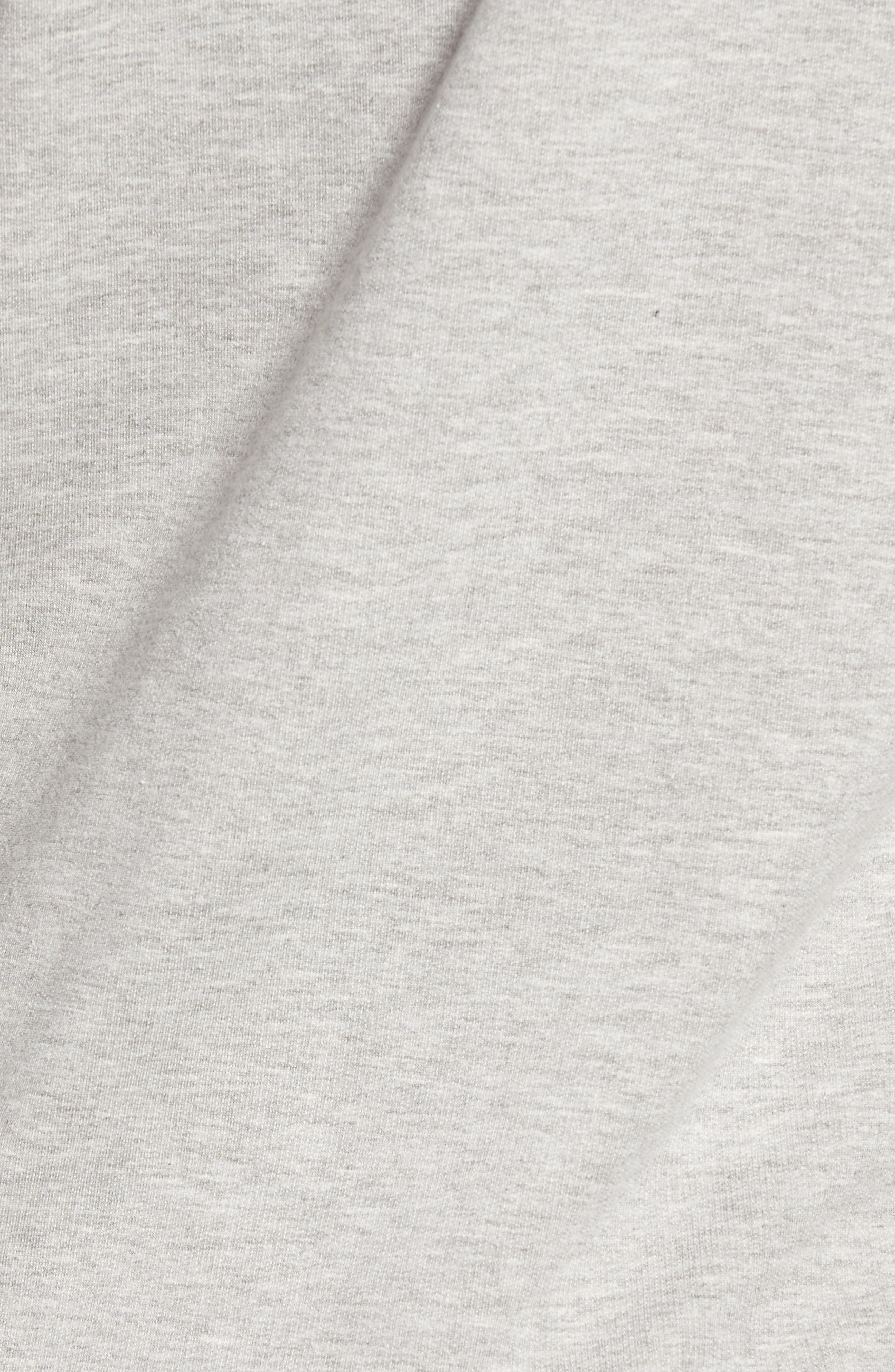 Alternate Image 5  - Caslon® Tie Knot Sweatshirt (Regular & Petite)