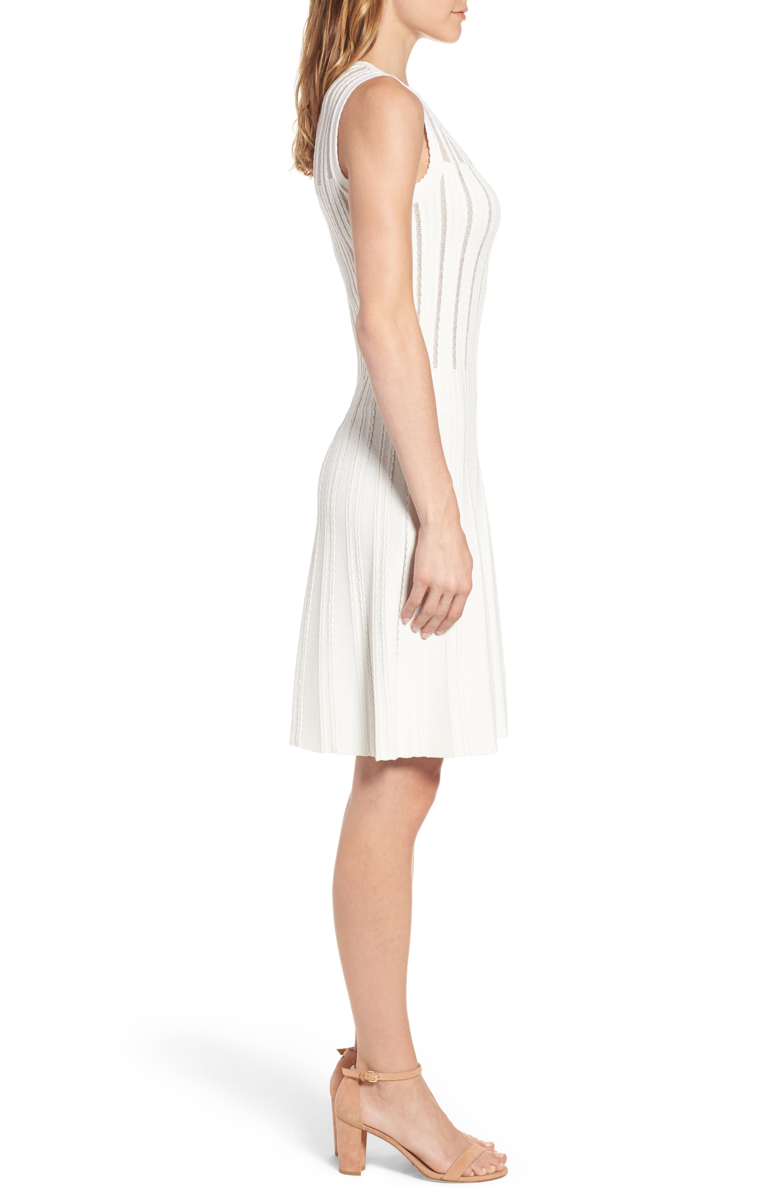 Alternate Image 3  - Anne Klein Knit A-Line Dress