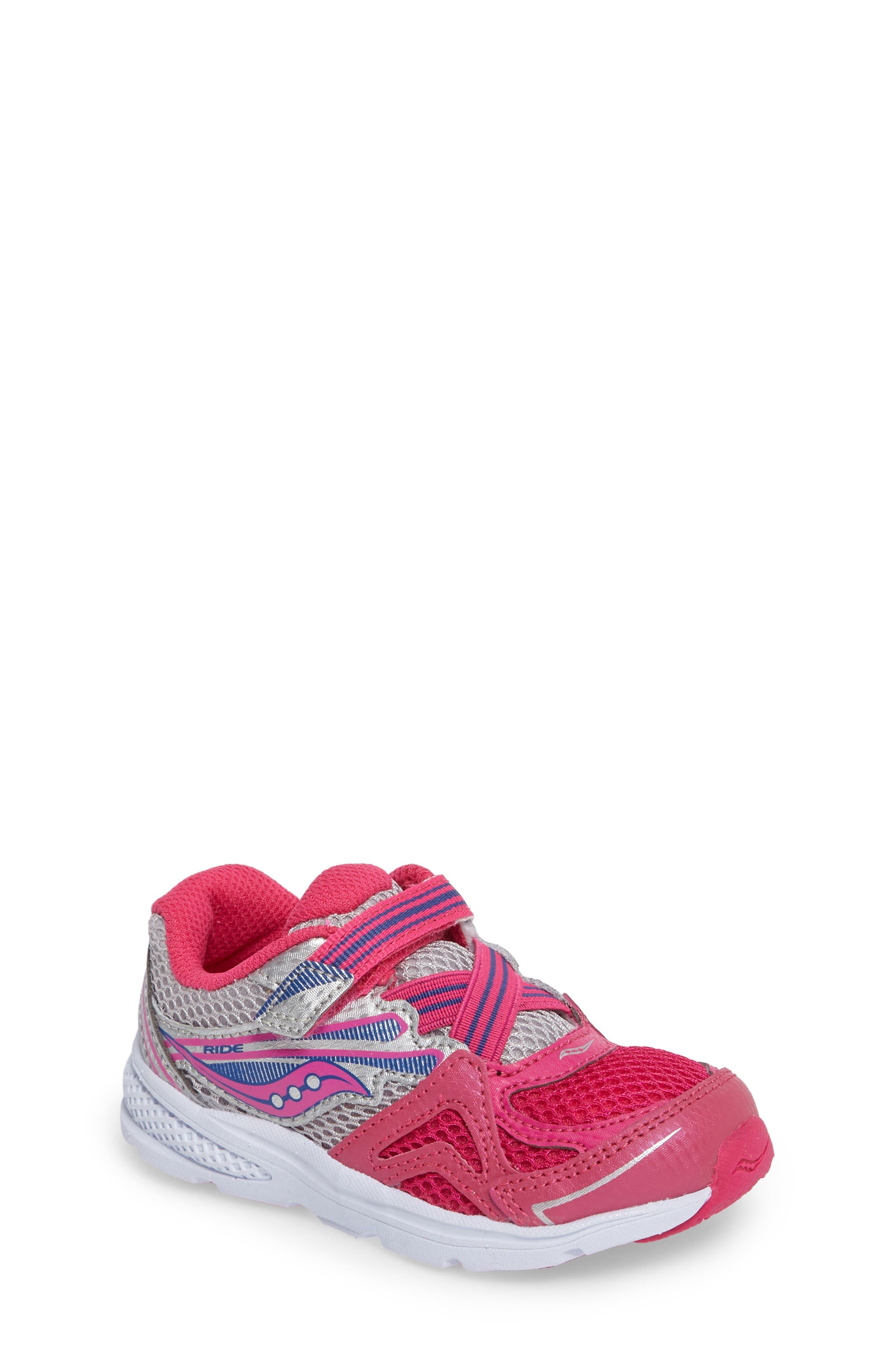 Saucony 'Baby Ride' Sneaker (Baby, Walker & Toddler)