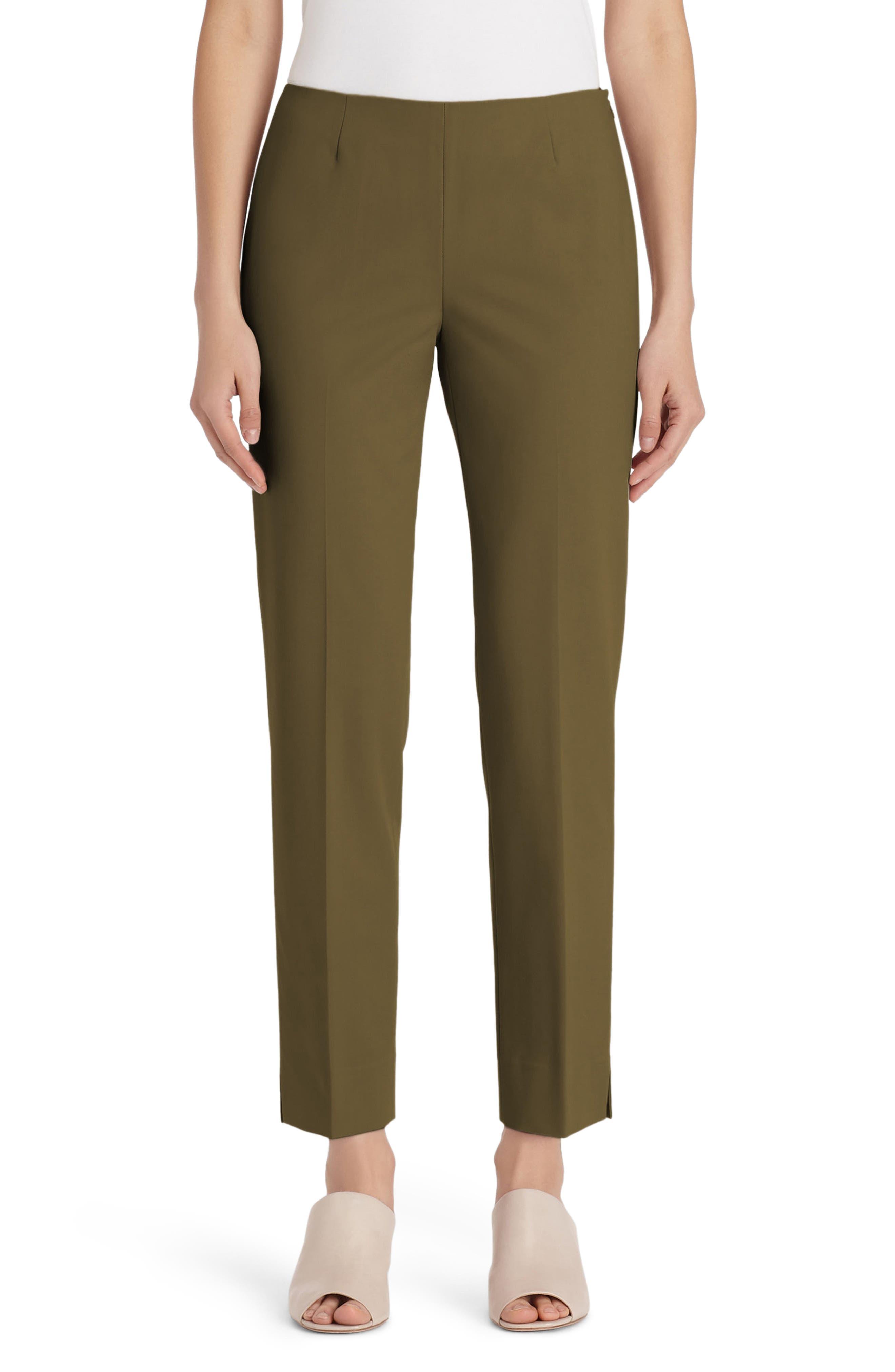 Lexington Crop Pants,                         Main,                         color, Vine